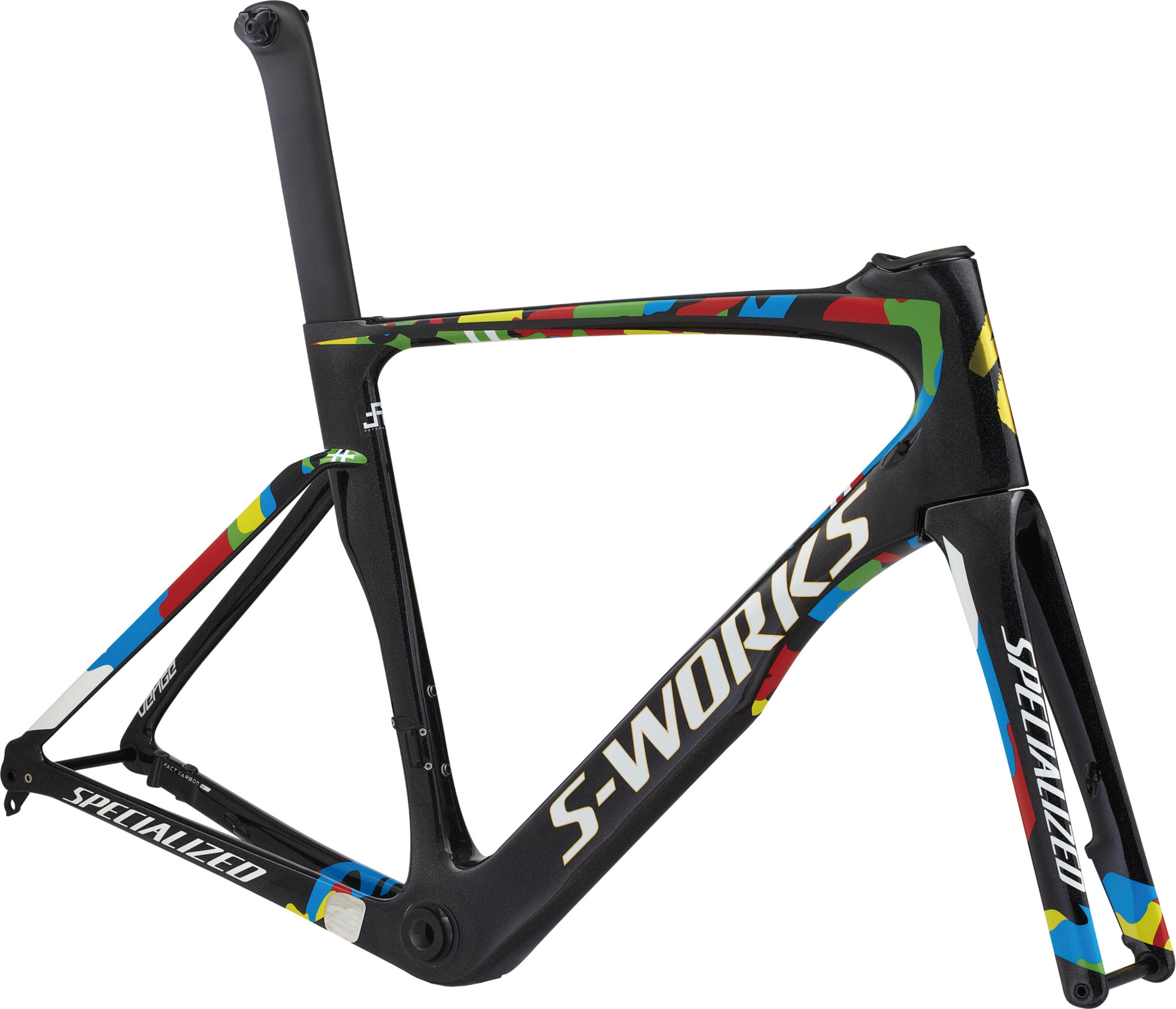 SPECIALIZED SW VENGE DISC VIAS FRMSET SAGAN WC 49 - SPECIALIZED SW VENGE DISC VIAS FRMSET SAGAN WC 49