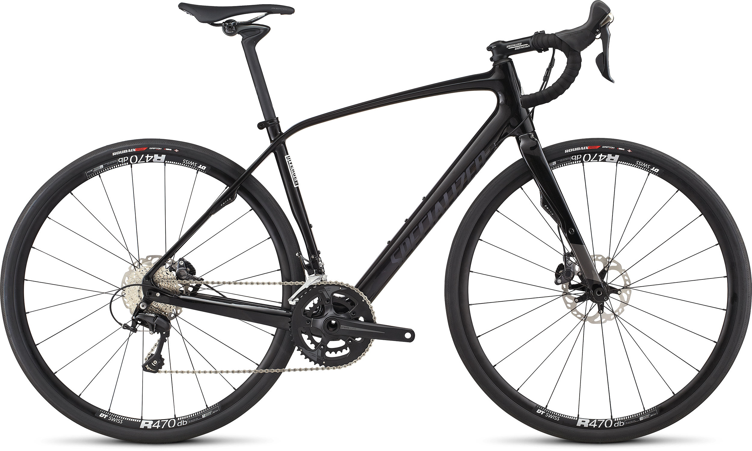 SPECIALIZED DIVERGE COMP M CEN CARB/CARB/DRMSIL 49 - Bike Maniac