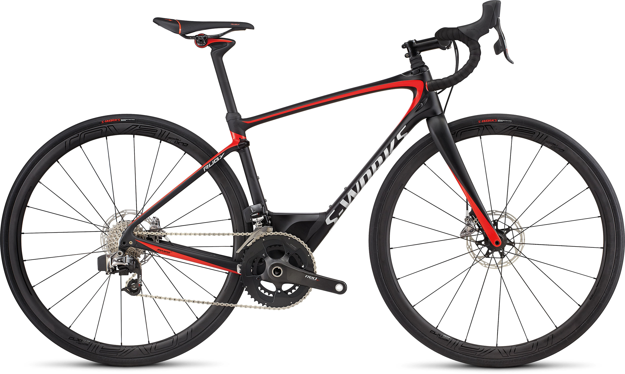 SPECIALIZED SW RUBY ETAP TARBLK/NRDCRED/CHRM 51 - Alpha Bikes