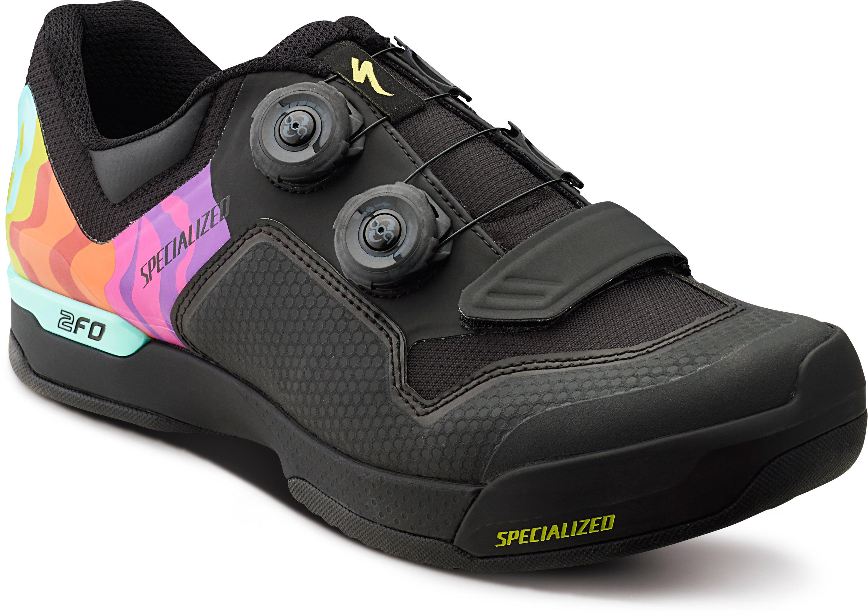 Specialized 2FO ClipLite Mountain Bike Shoes CW JAW LTD 43/9.6 - Alpha Bikes