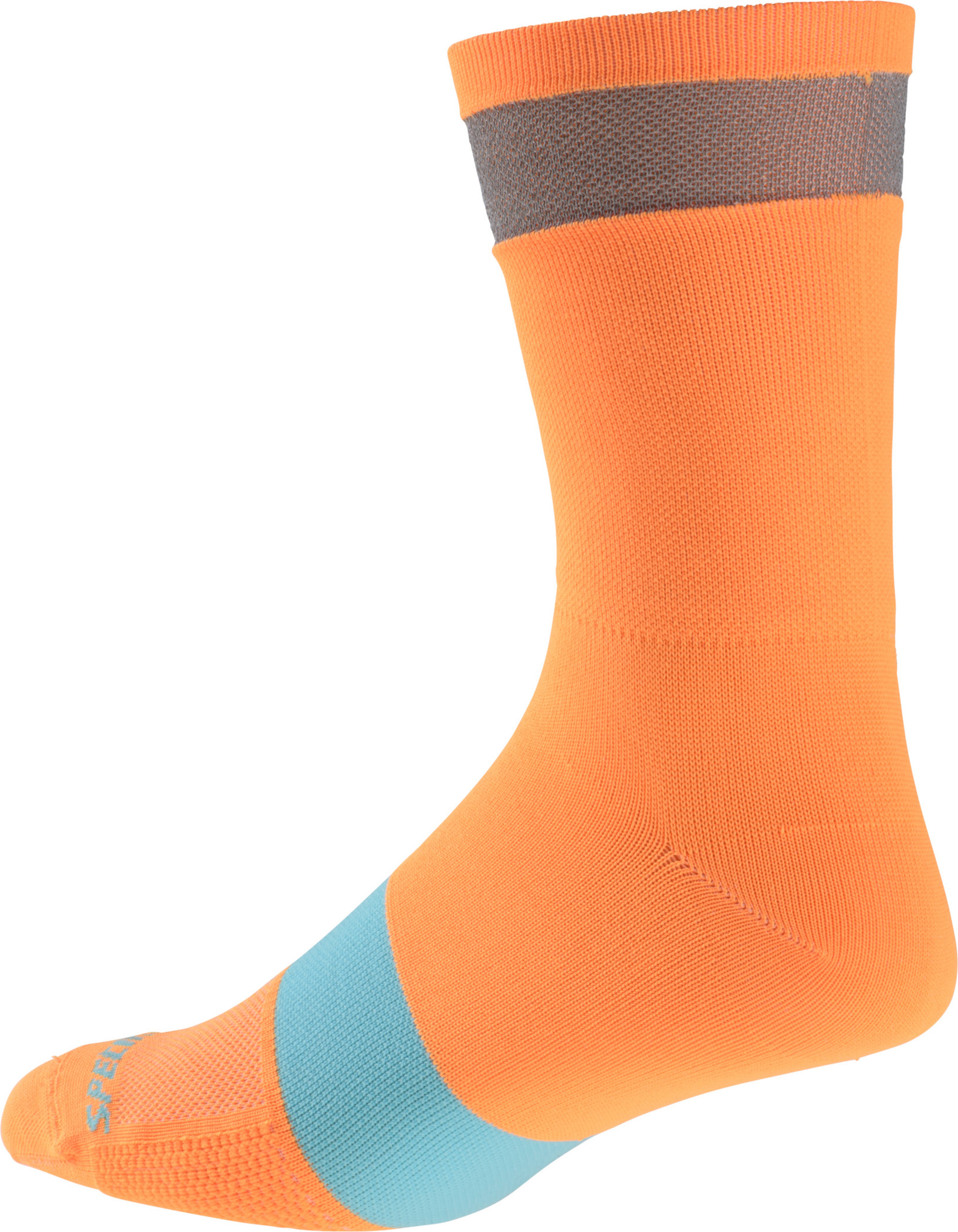 Specialized Reflect Tall Socks Neon Orange Large/X-Large - Alpha Bikes
