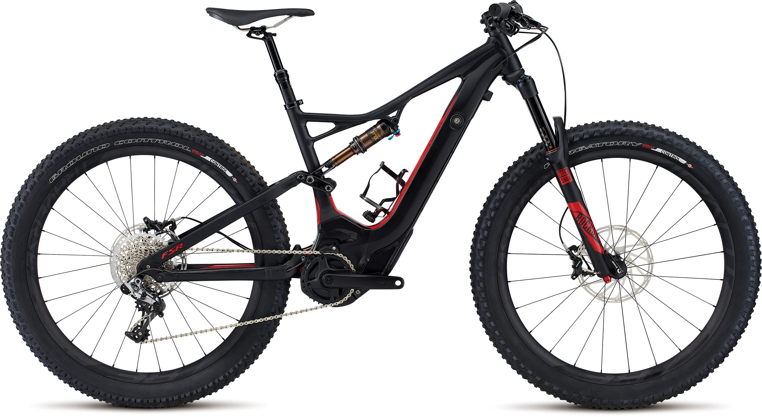 SPECIALIZED SW LEVO FSR 6FATTIE CE BLK/FLORED L - Bike Zone