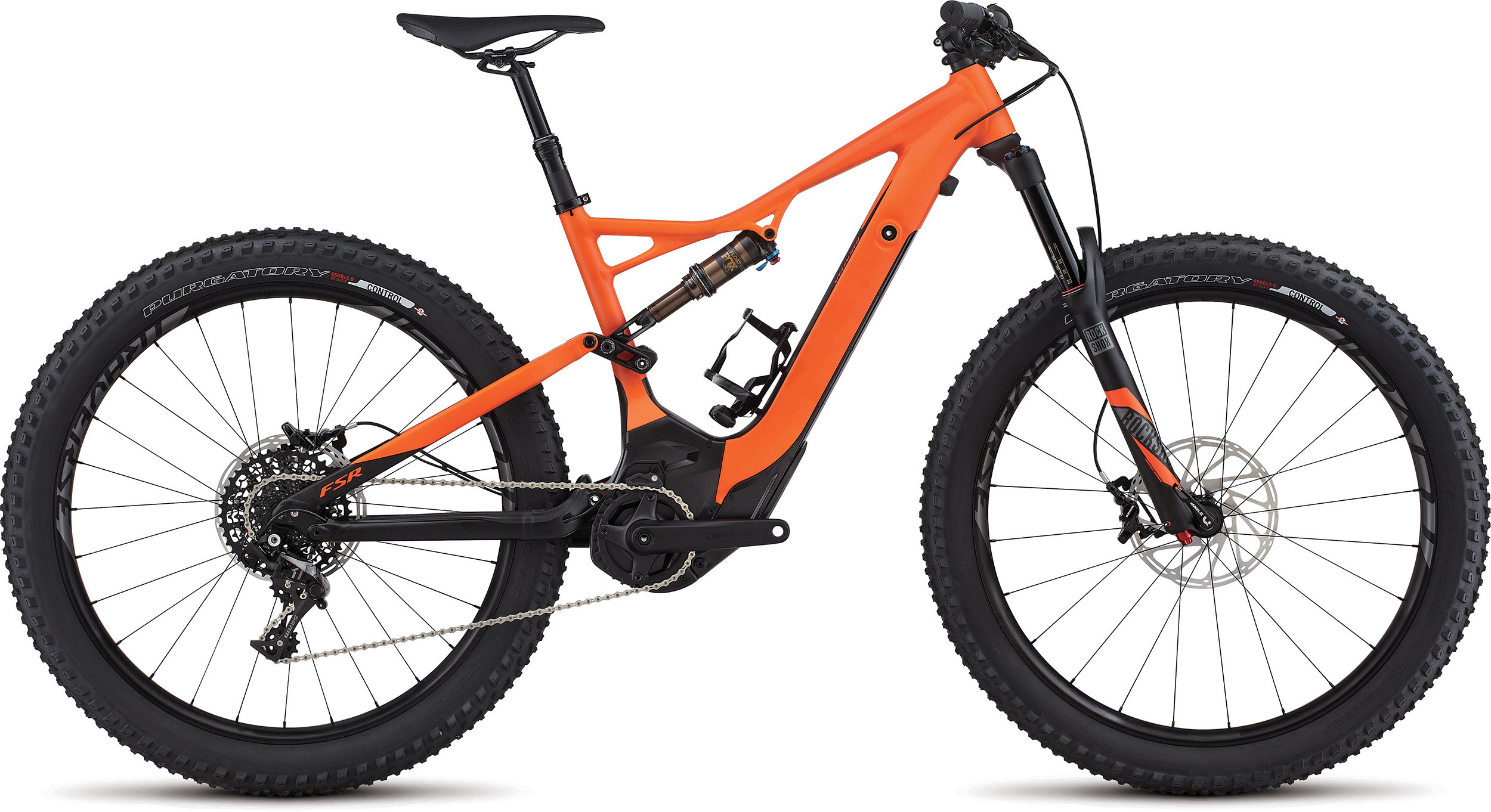 SPECIALIZED LEVO FSR EXPERT 6FATTIE CE MXORG/BLK L - Bike Zone
