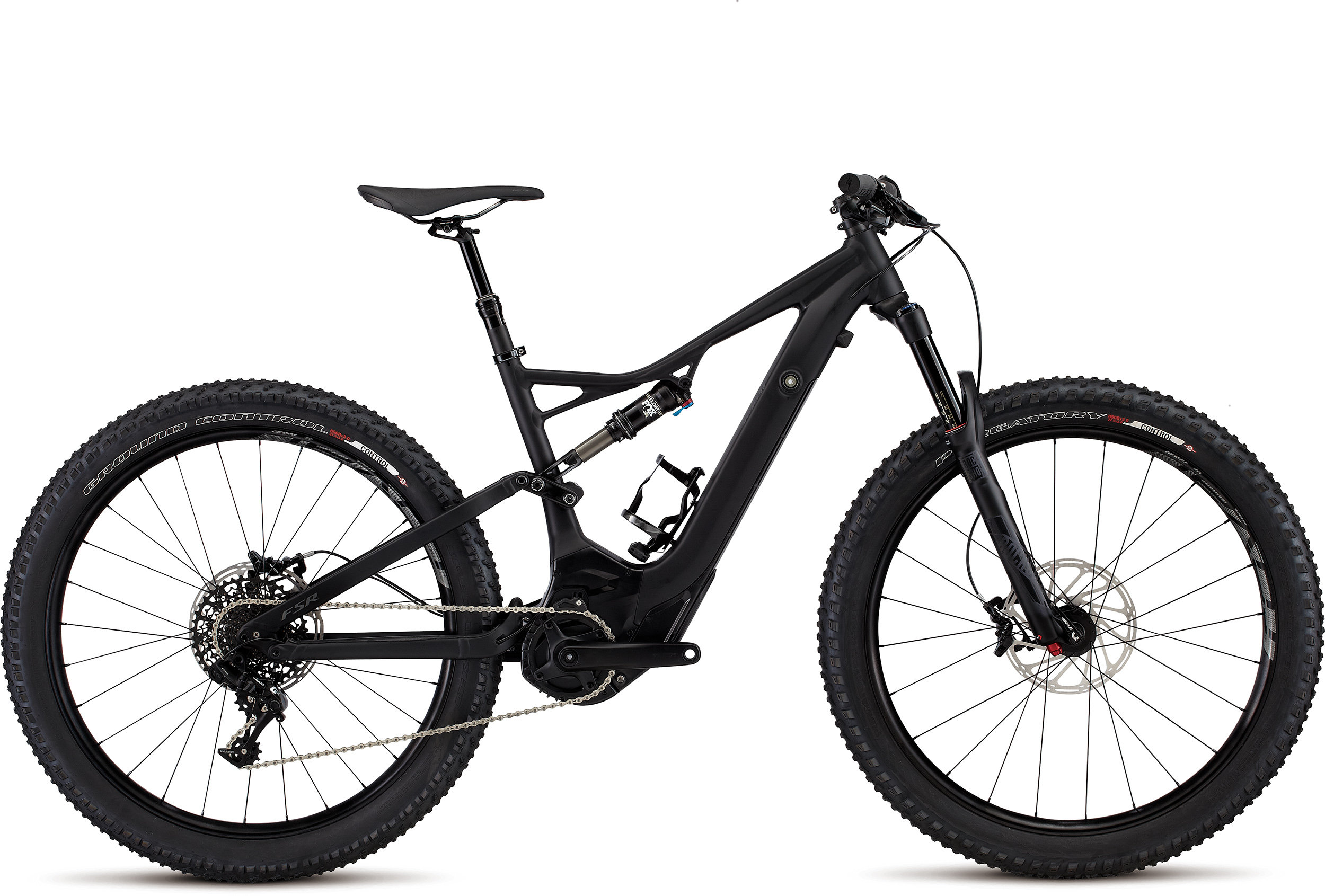 SPECIALIZED LEVO FSR COMP 6FATTIE CE BLK/CHAR L - Bike Zone