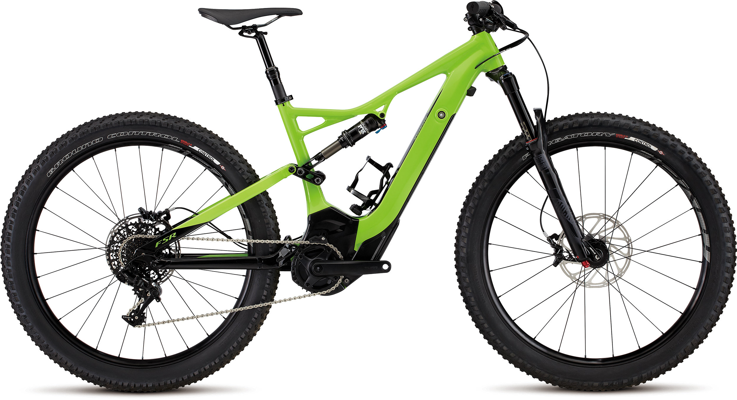 SPECIALIZED LEVO FSR COMP 6FATTIE CE MONGRN/BLK L - Bike Zone