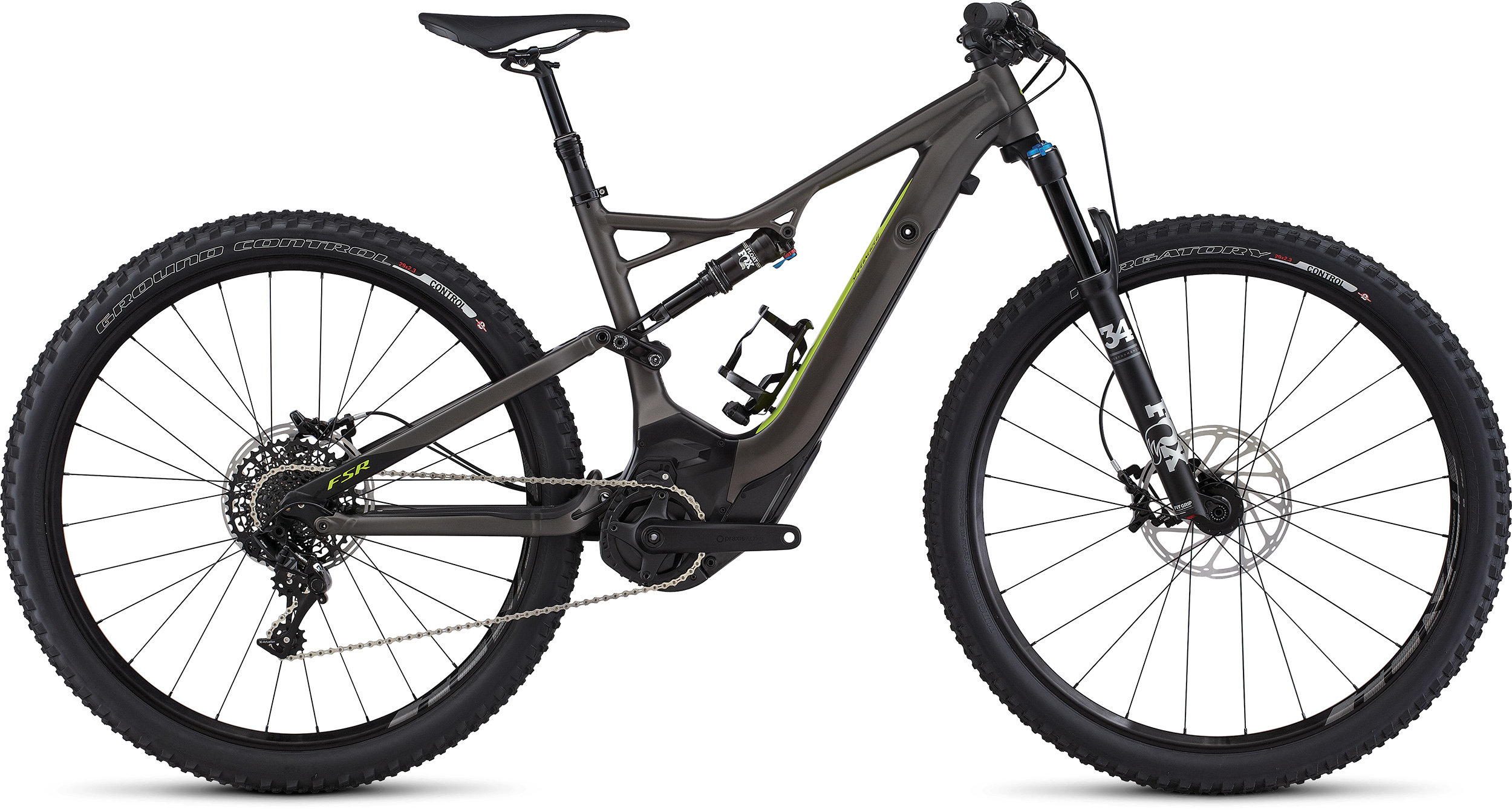 SPECIALIZED LEVO FSR ST COMP 29 CE CHAR/HYP L - Bike Zone