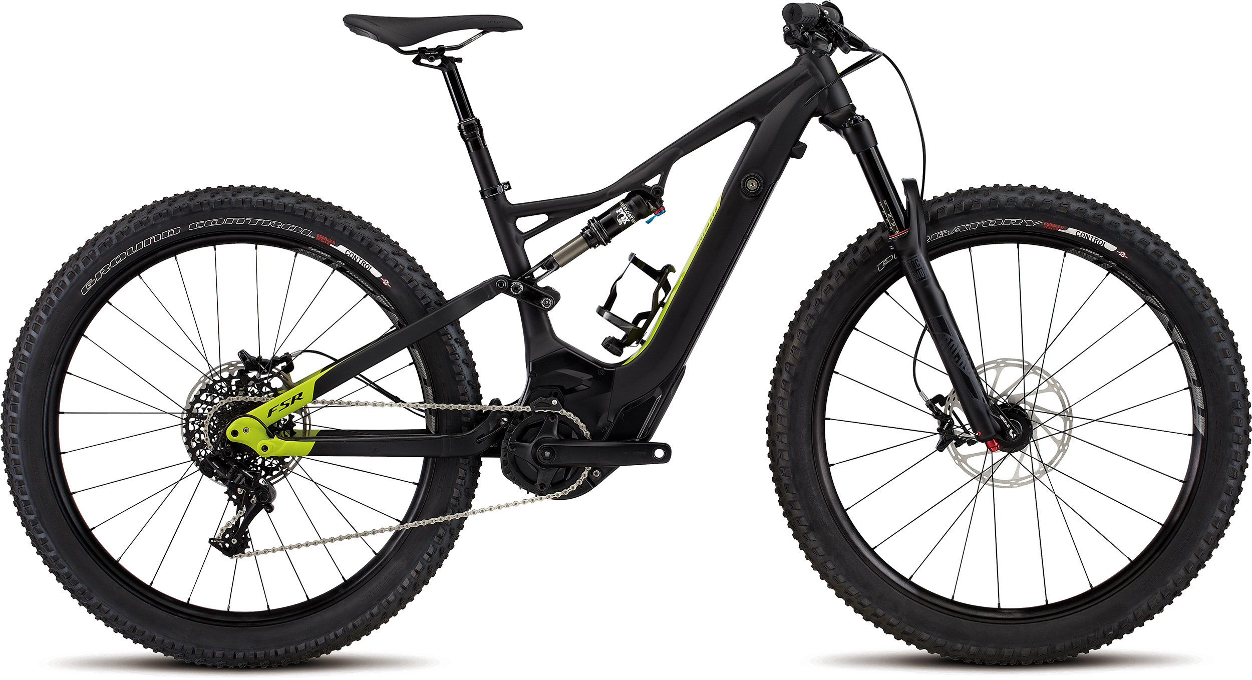 SPECIALIZED LEVO WMN FSR COMP 6FATTIE CE TARBLK/HYP L - Bike Zone