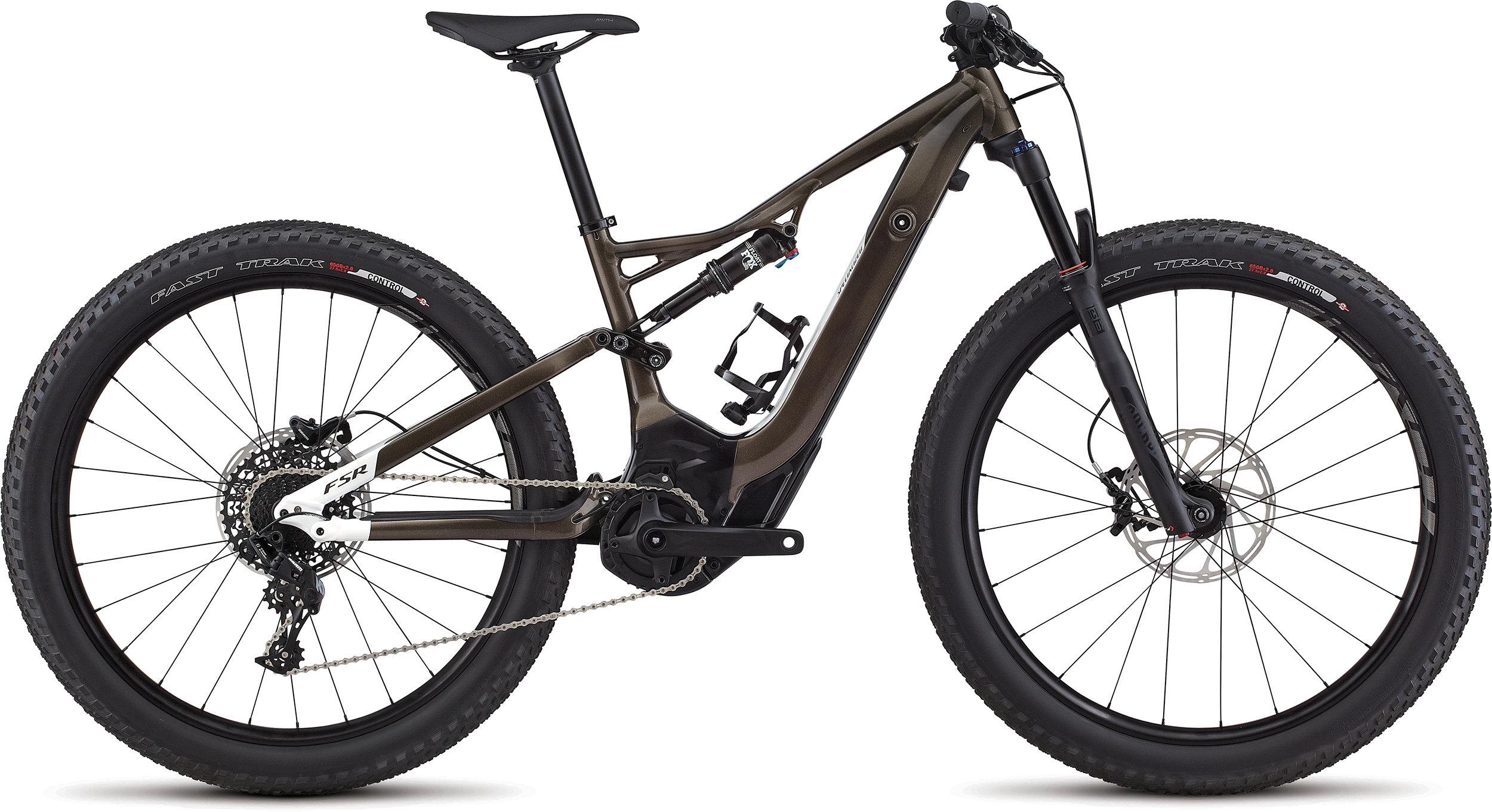SPECIALIZED LEVO WMN FSR ST 6FATTIE CE RFBLKTNT/METWHTSIL L - Alpha Bikes