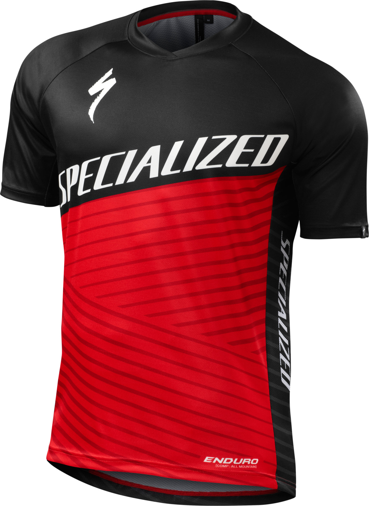 Specialized Enduro Comp Jersey Red Large - Alpha Bikes