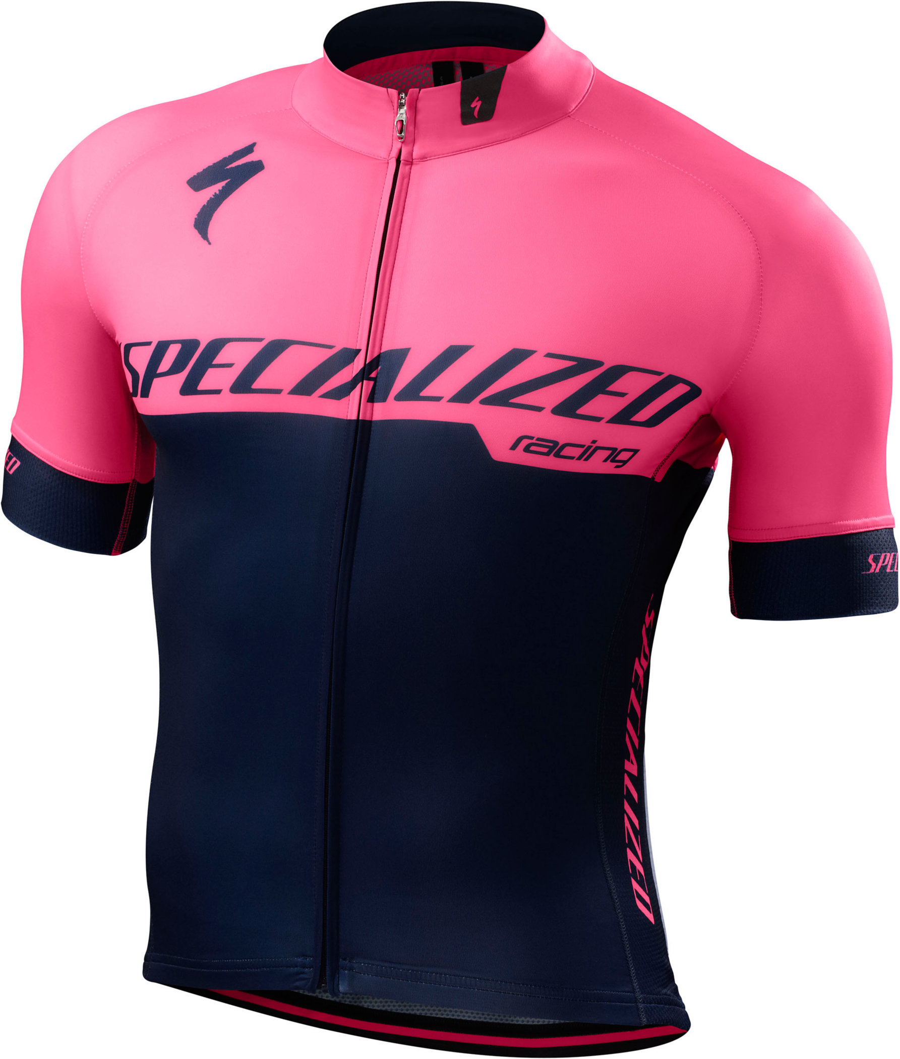 Specialized SL Expert Jersey Team Navy/Neon Pink Large - Alpha Bikes