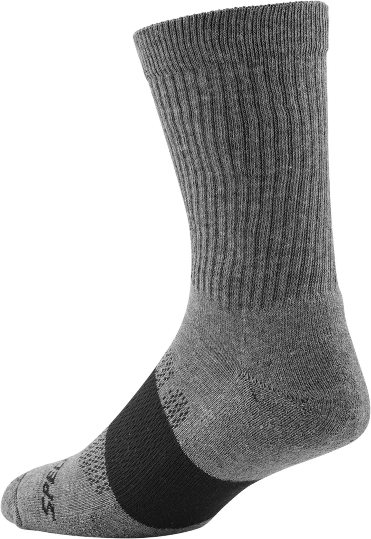 Specialized Women´s Mountain Tall Socks Light Grey Heather M/L - Alpha Bikes