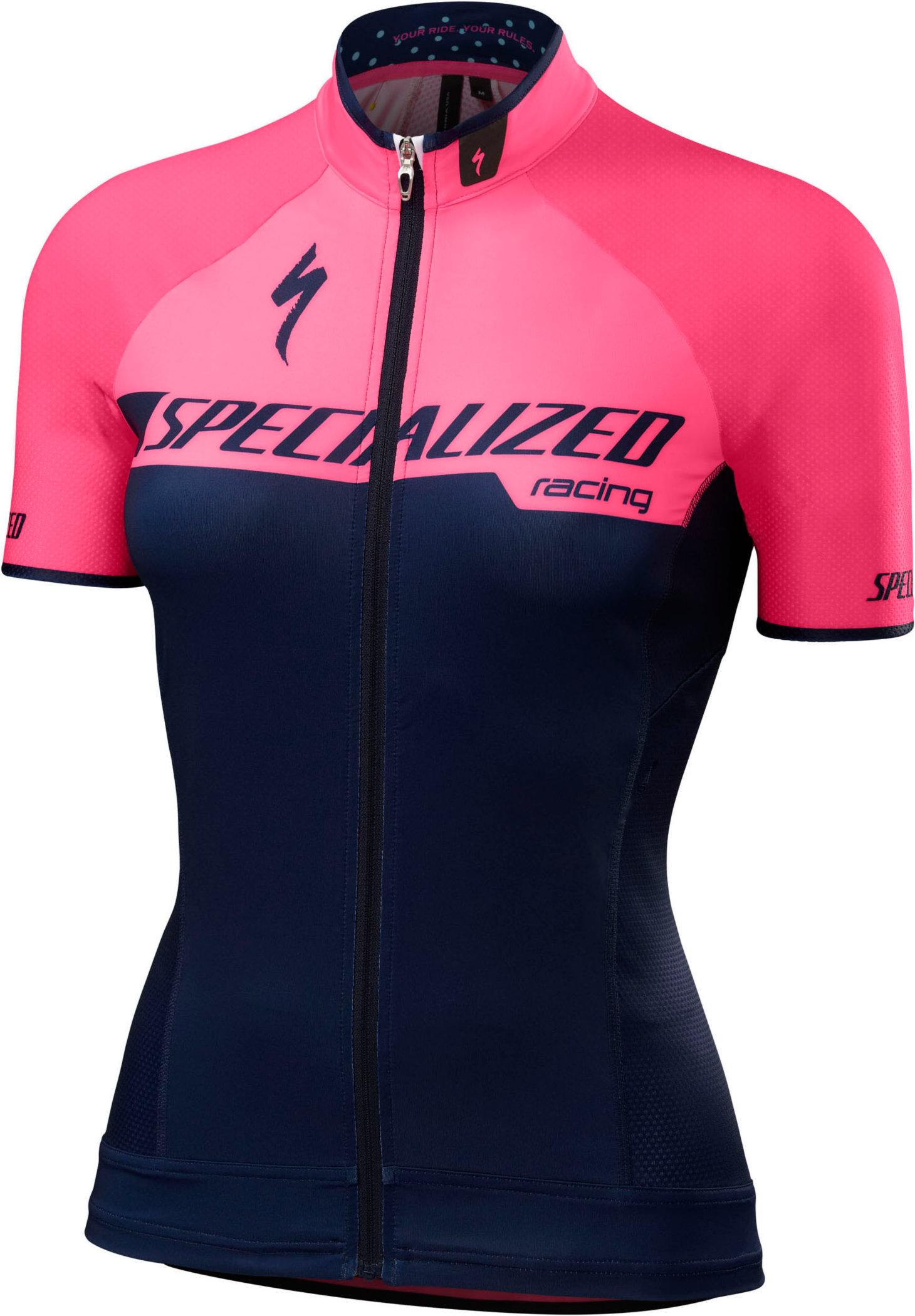 Specialized Women´s SL Pro Jersey Team Neon Pink Large - Alpha Bikes