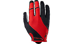 BODY GEOMETRY GEL GLOVE LONG RED S