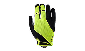 BODY GEOMETRY GEL GLOVE LONG BLK/NEON YEL XL