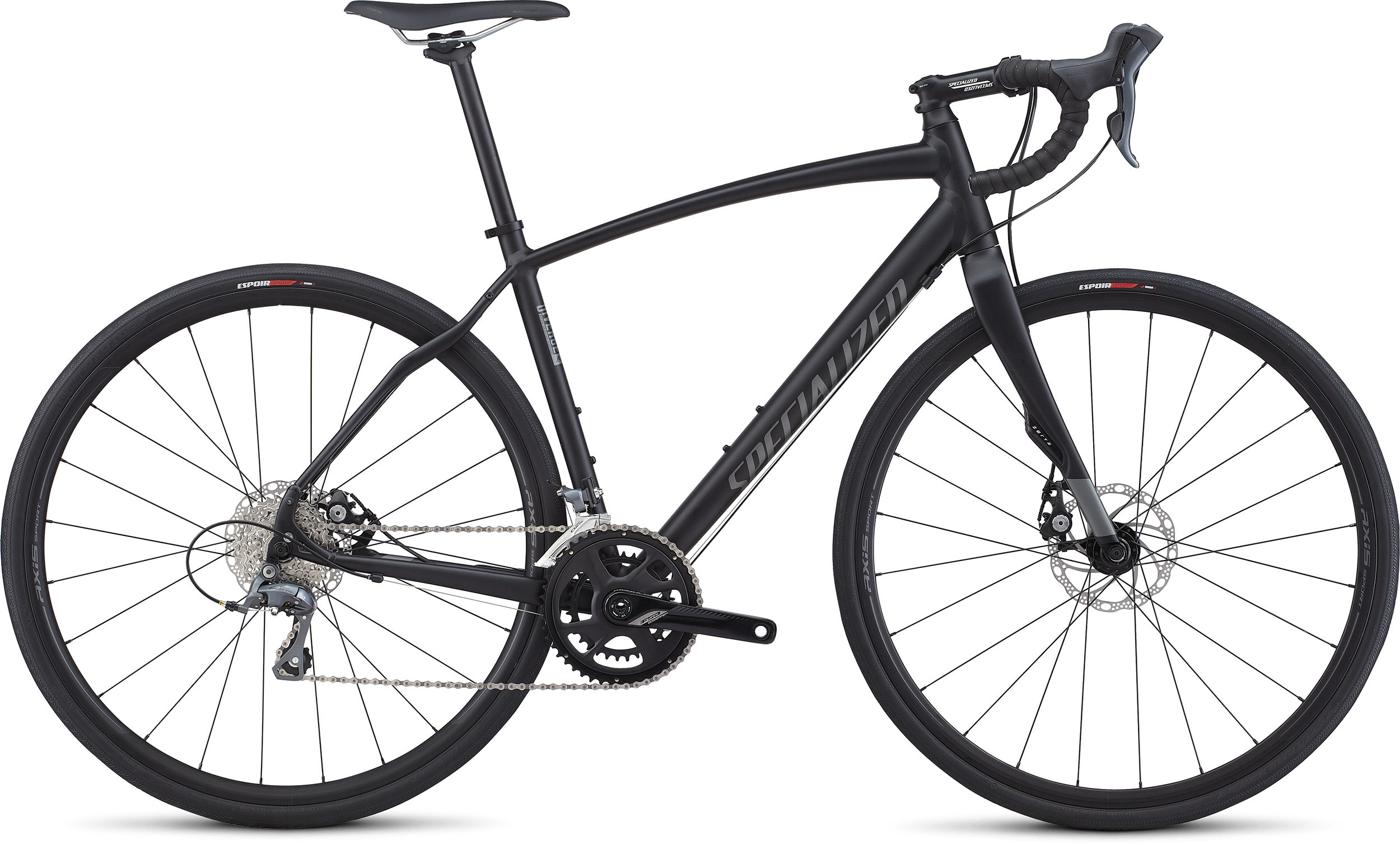 SPECIALIZED DIVERGE A1 CEN BLK/CHAR 49 - Bike Zone