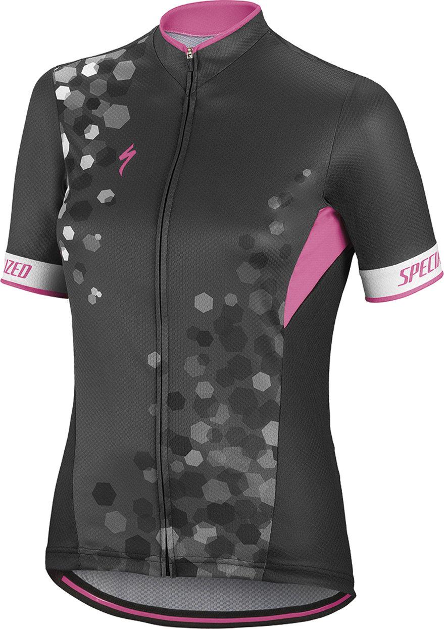 Specialized RBX Comp SS Women´s jersey Black/Neon Pink XL - Alpha Bikes