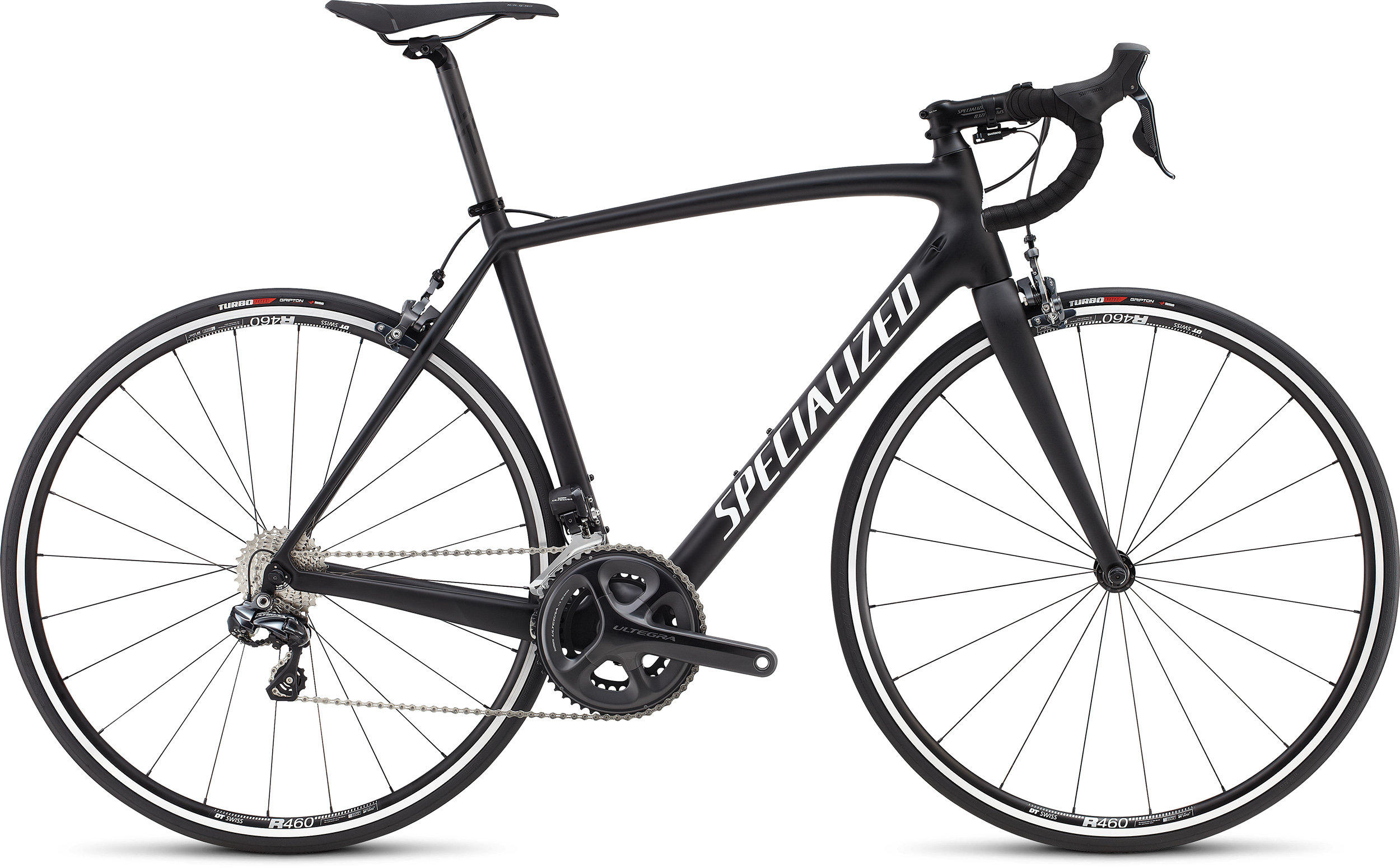 SPECIALIZED TARMAC SL4 COMP UDI2 BLK/WHT 49 - Bike Zone