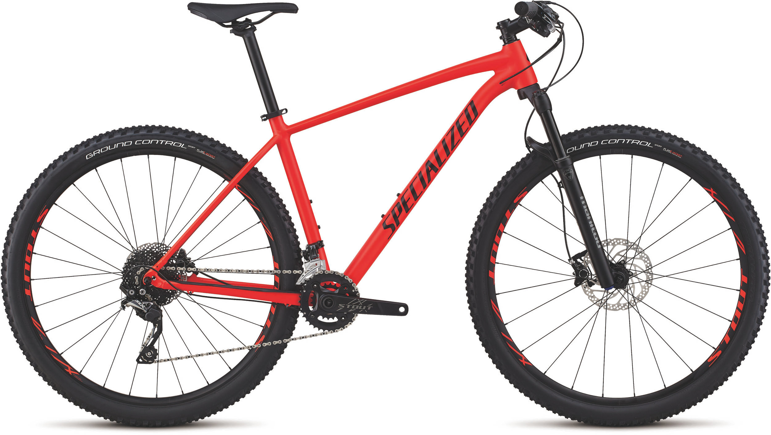 Specialized Men´s Rockhopper Pro SATIN ROCKET RED / BLACK / CLEAN L - Alpha Bikes