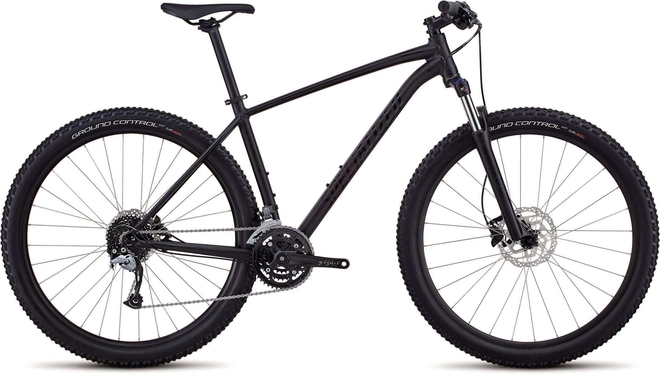 Specialized Men´s Rockhopper Comp SATIN GLOSS BLACK / BLACK L - Bike Zone