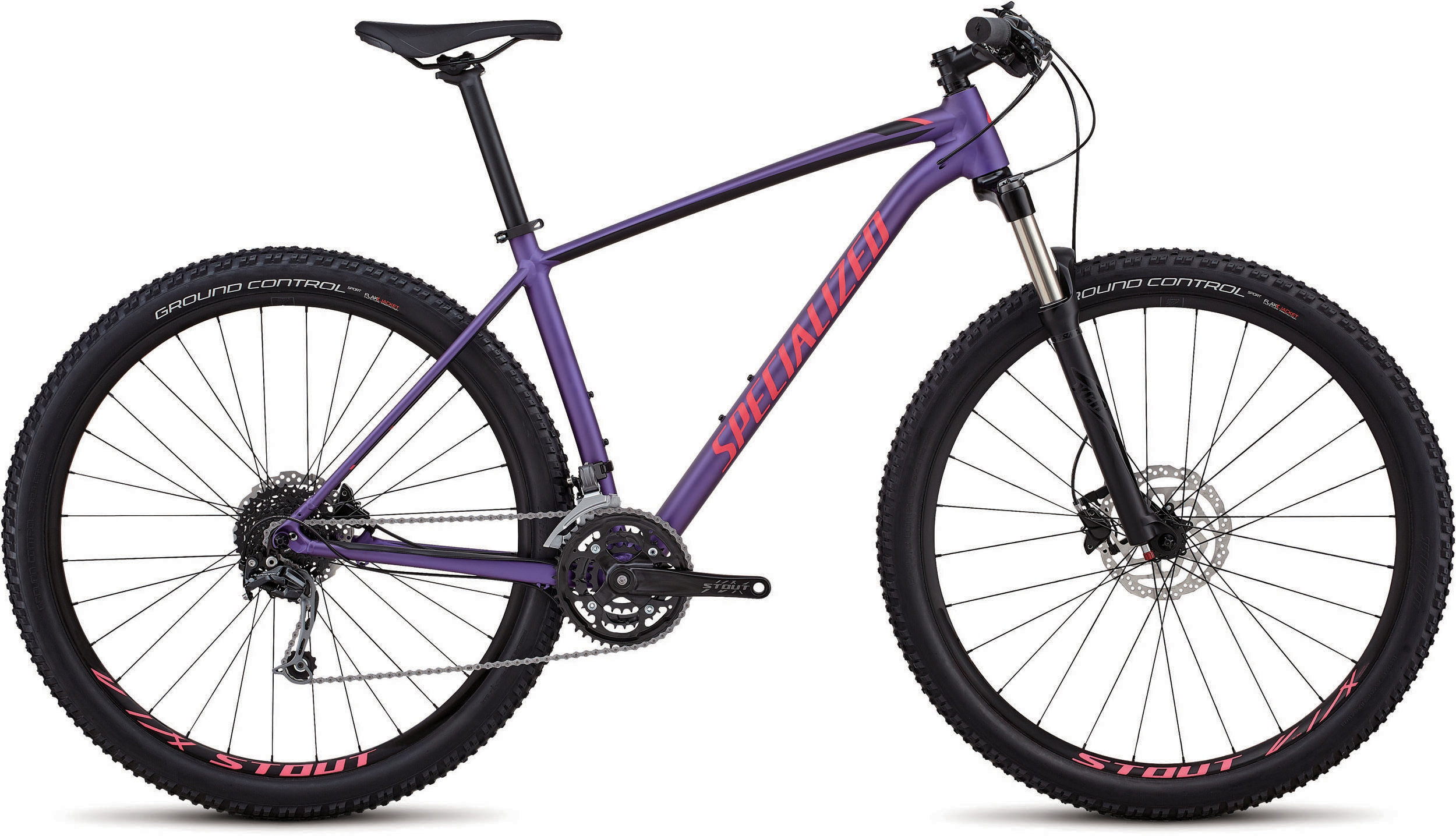 Specialized Men´s Rockhopper Expert HERITAGE SATIN PURPLE / ACID PINK / BLACK L - Alpha Bikes