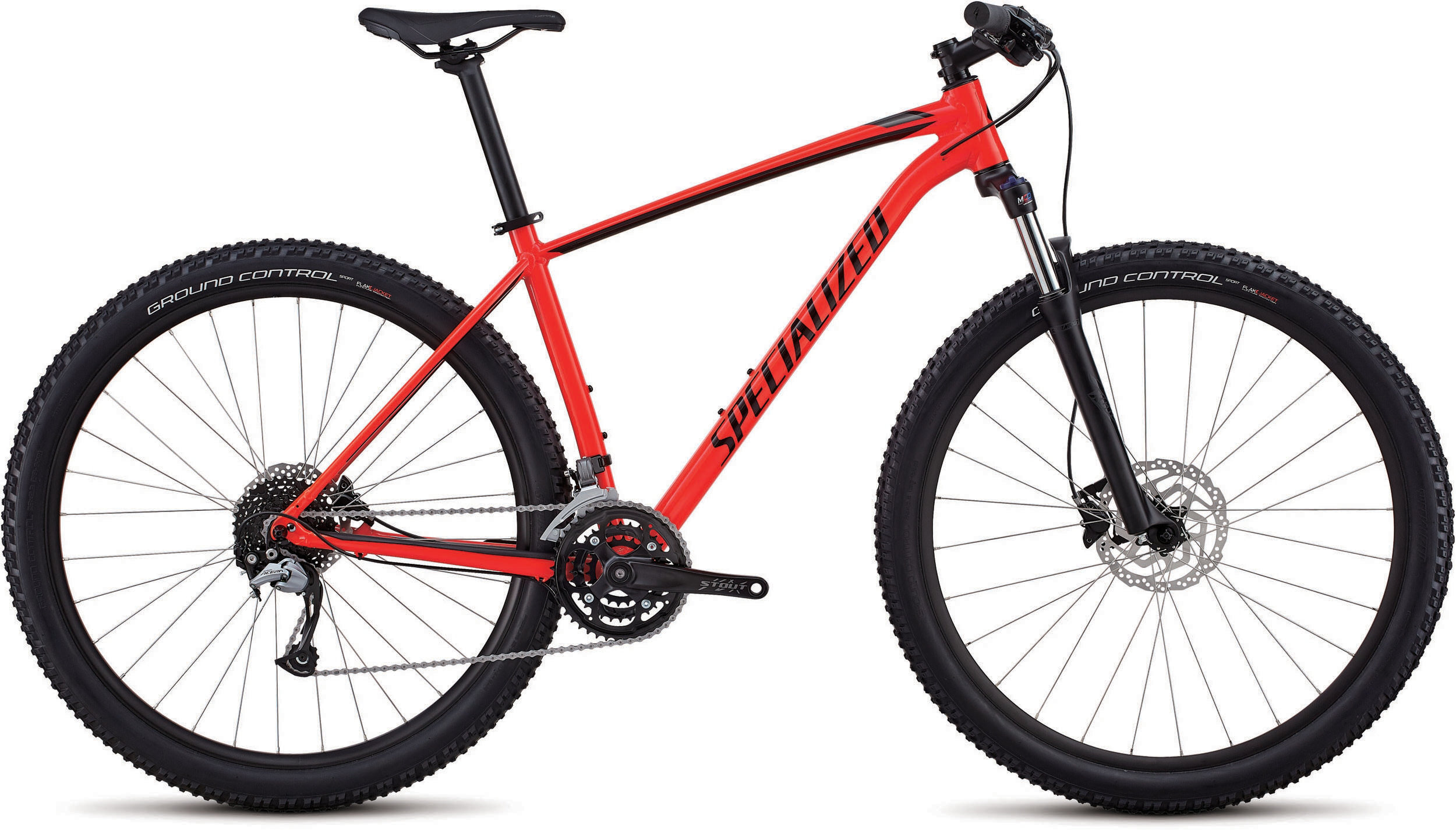 Specialized Men´s Rockhopper Comp GLOSS ROCKET RED / BLACK / CHARCOAL L - Bike Zone