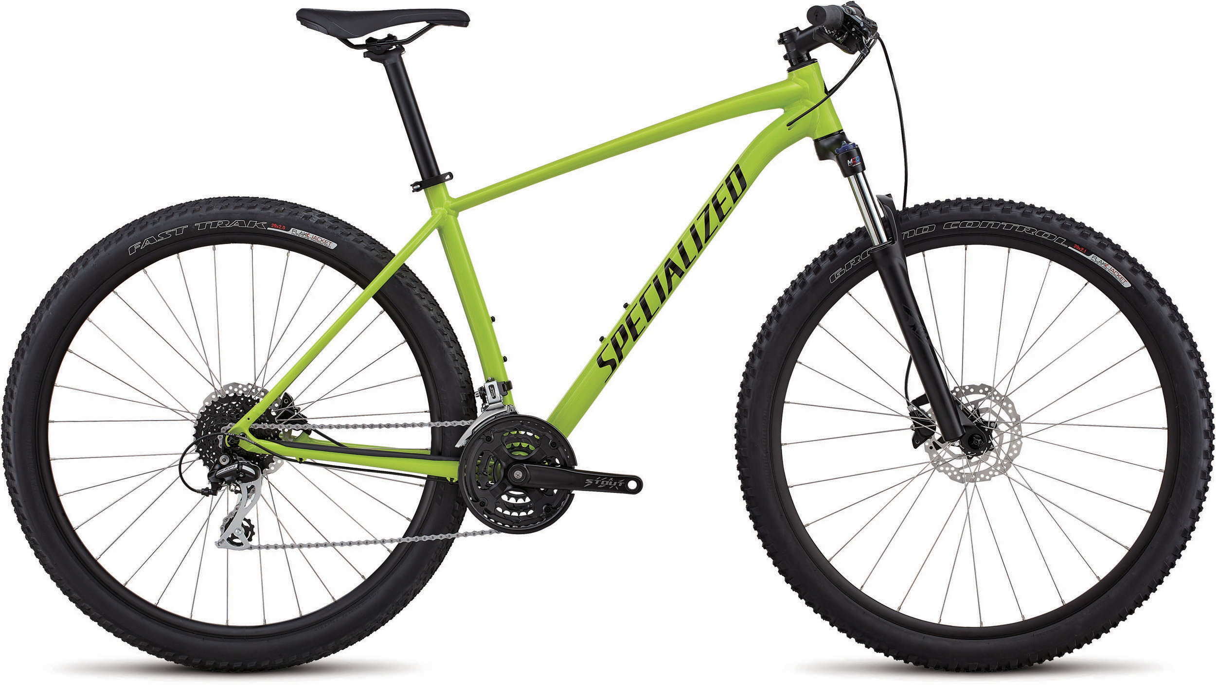 Specialized Men´s Rockhopper Sport GLOSS HYPER / BLACK / CLEAN L - Alpha Bikes