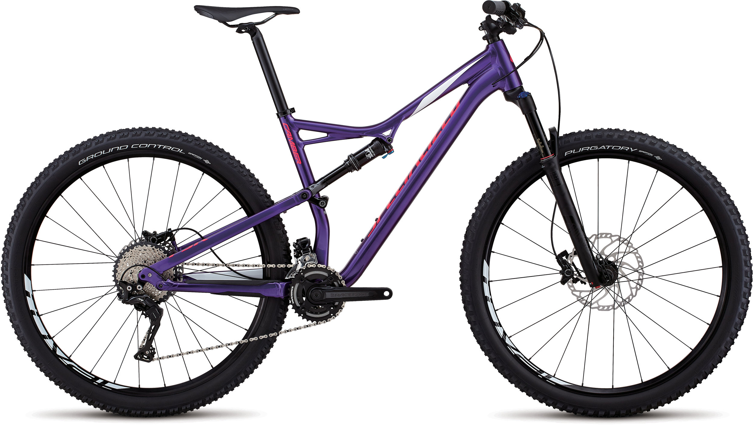 Specialized Men´s Camber Comp 29 HERITAGE GLOSS PURPLE / WHITE / ACID PINK M - Pulsschlag Bike+Sport