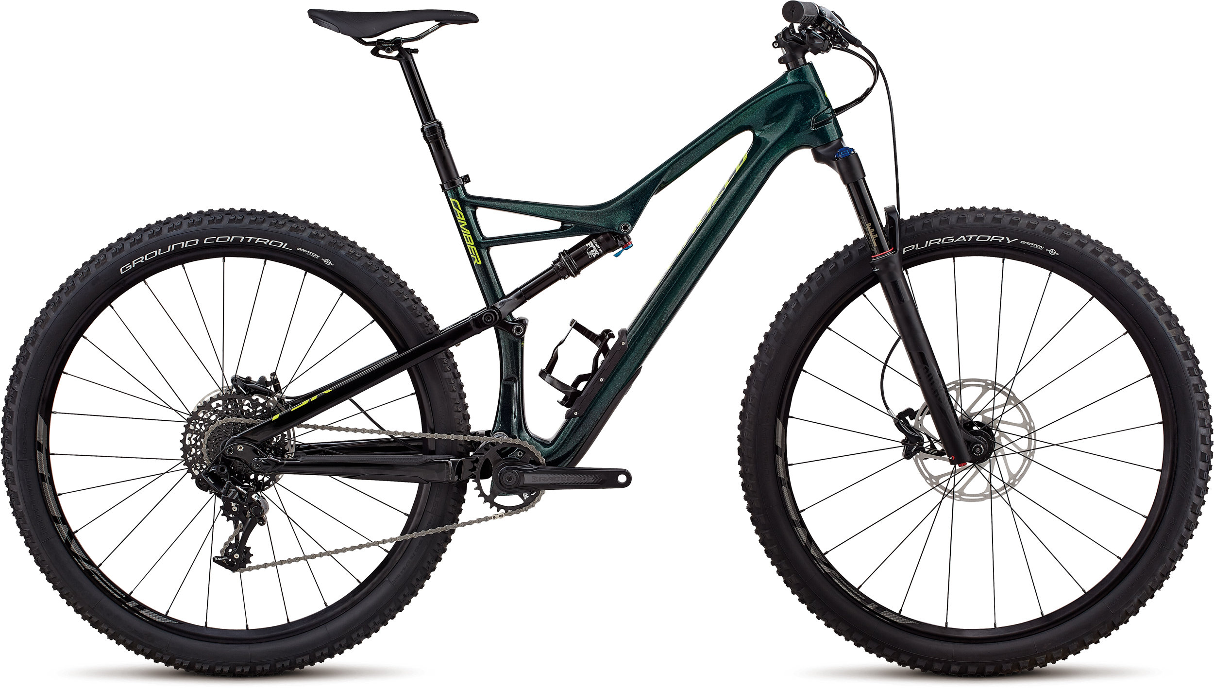 Specialized Men´s Camber Comp Carbon 29 - 1x GLOSS CAVENDISH GREEN / HYPER GREEN CLEAN L - Pulsschlag Bike+Sport