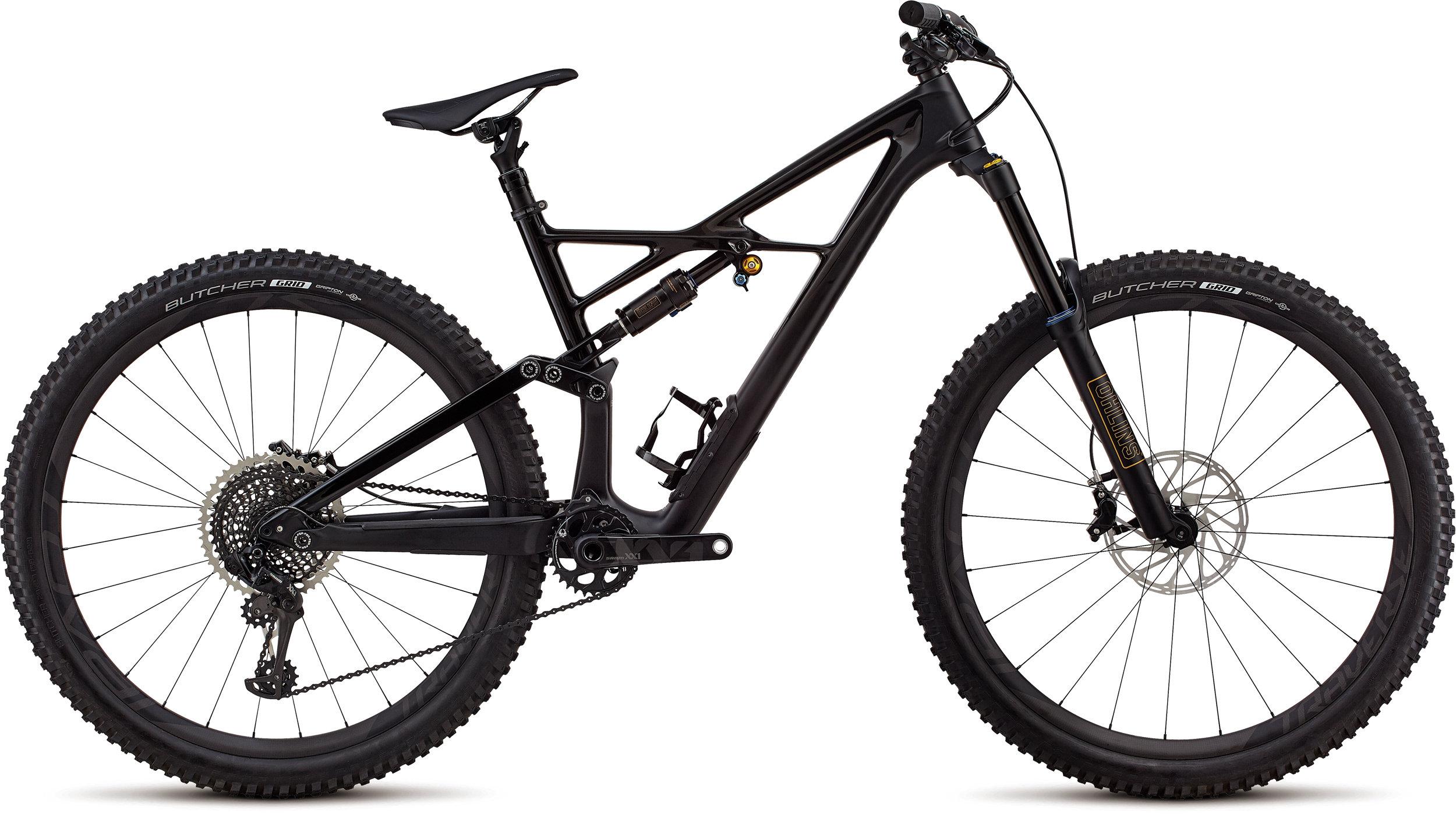 Specialized S-Works Enduro 29/6Fattie GLOSS SATIN BLACK / BLACK S - Bike Maniac