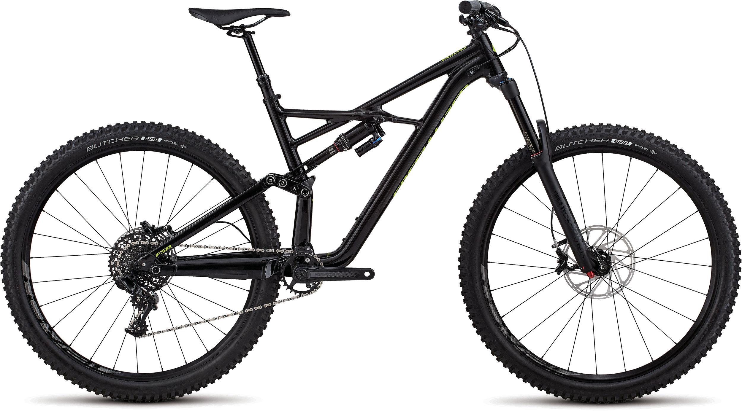 Specialized Enduro Comp 29/6Fattie GLOSS BLACK / HYPER S - Bike Maniac