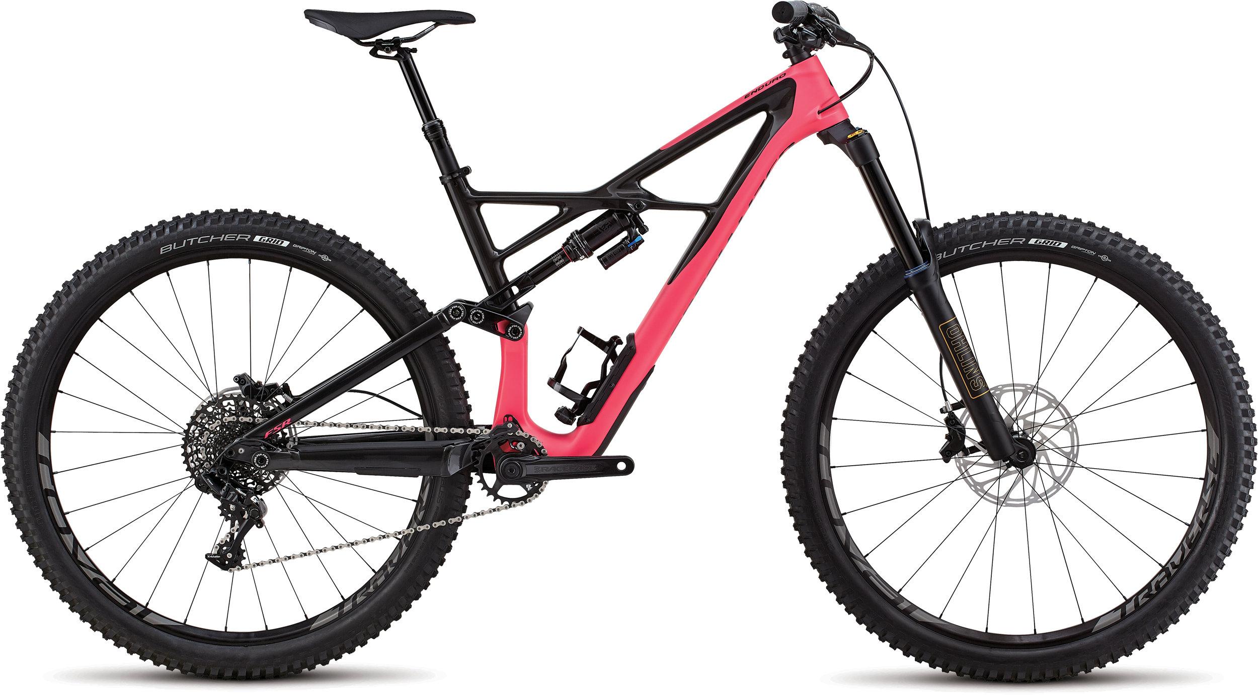 Specialized Enduro Elite 29/6Fattie SATIN GLOSS ACID PINK / CARBON L - Alpha Bikes