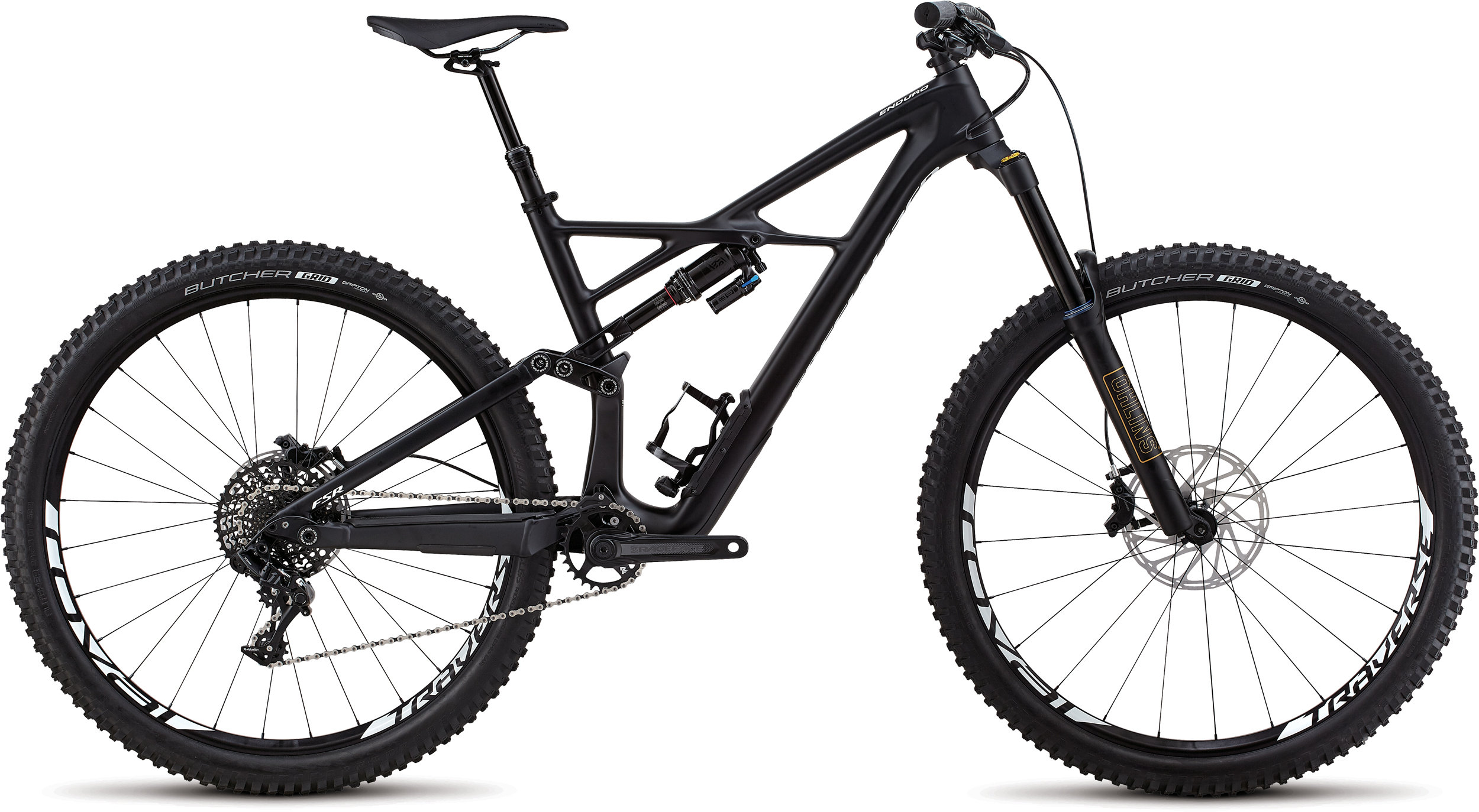 Specialized Enduro Elite 29/6Fattie SATIN BLACK / WHITE L - Bartz Bikesystem & Velodepot
