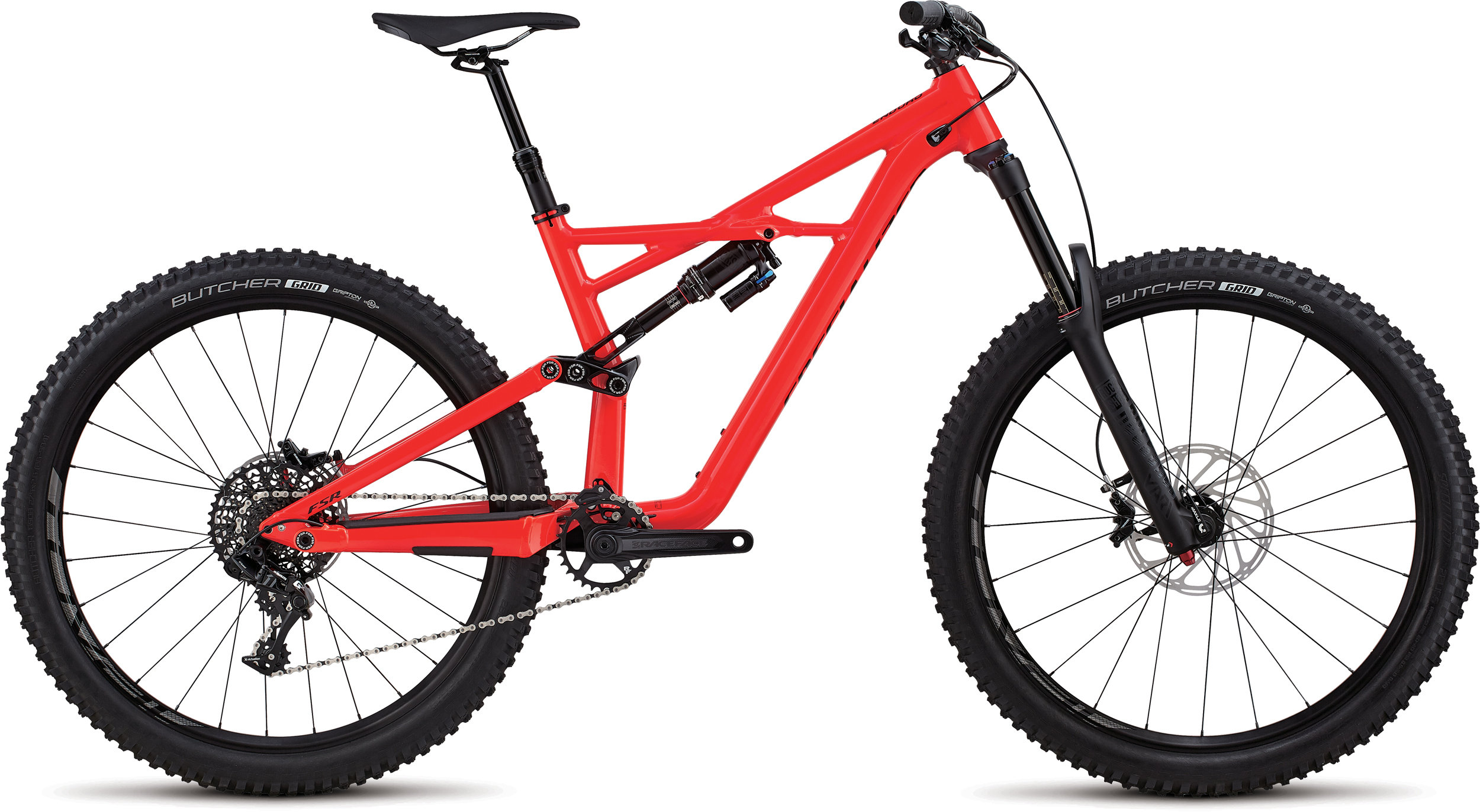 Specialized Enduro Comp 27.5 GLOSS ROCKET RED / BLACK CLEAN L - Bike Zone