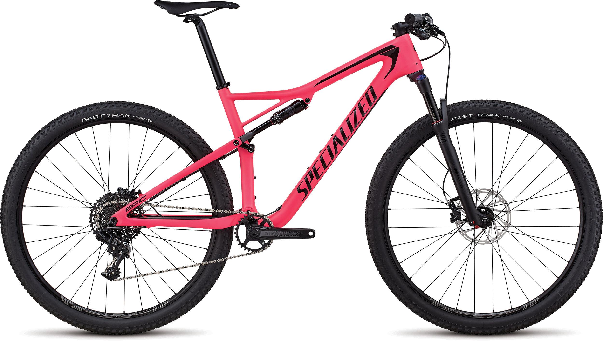 Specialized Men´s Epic Comp Carbon SATIN GLOSS ACID PINK / BLACK L - Alpha Bikes