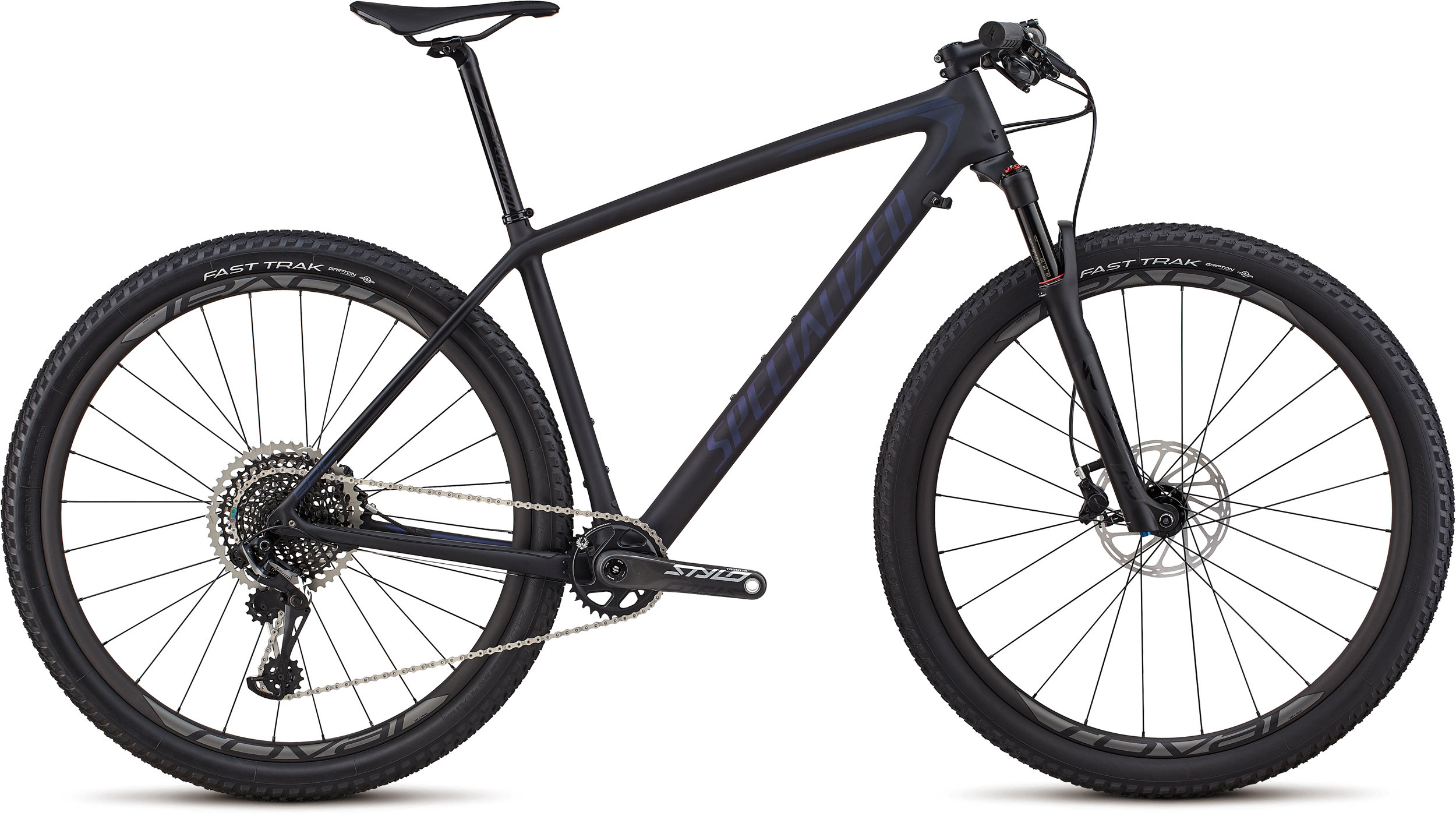 Specialized Men´s Epic Hardtail Pro SATIN BLACK / CHAMELEON L - Bike Zone