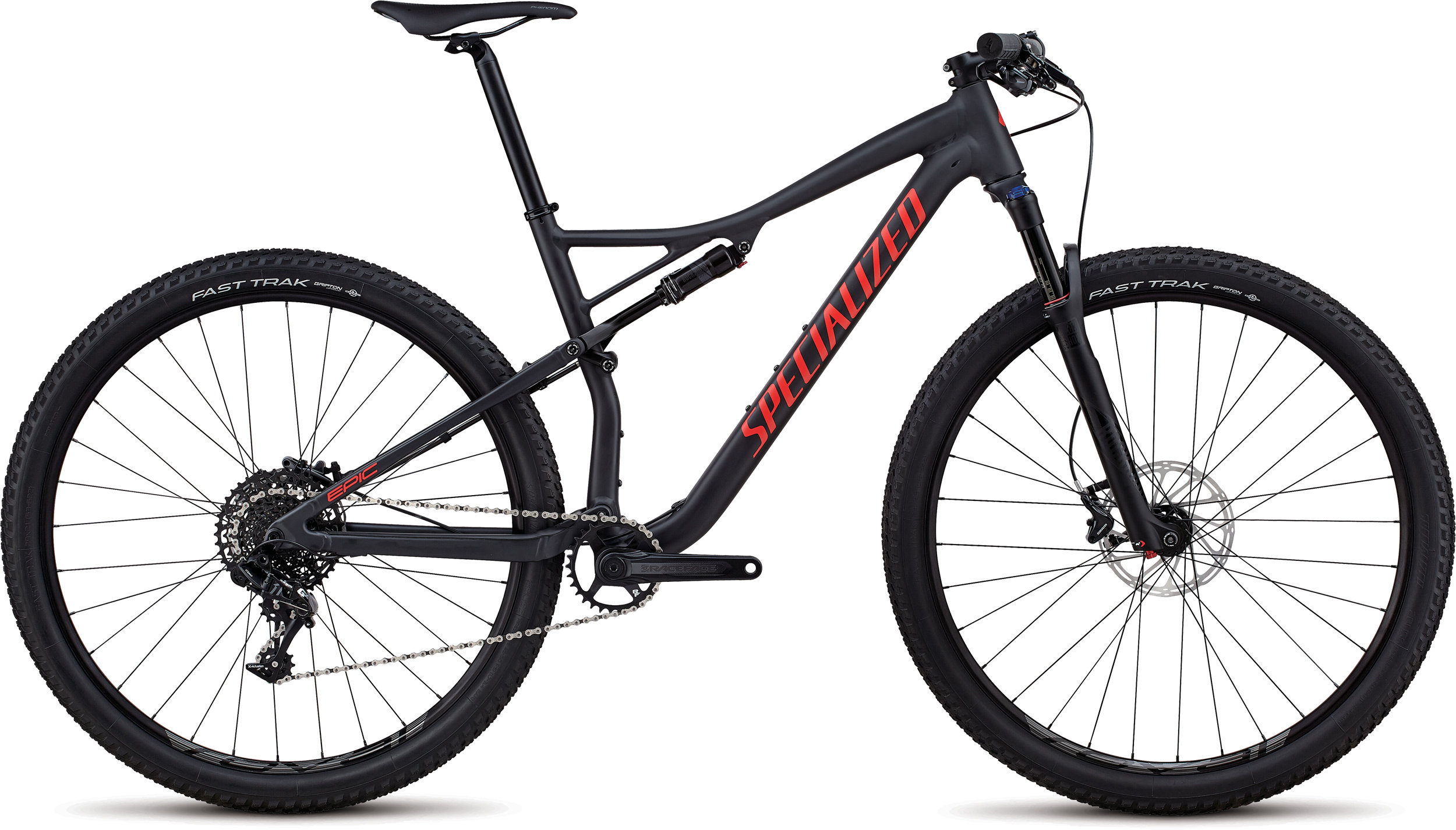 Specialized Men´s Epic Comp SATIN SLATE / NORDIC RED S - Bike Maniac