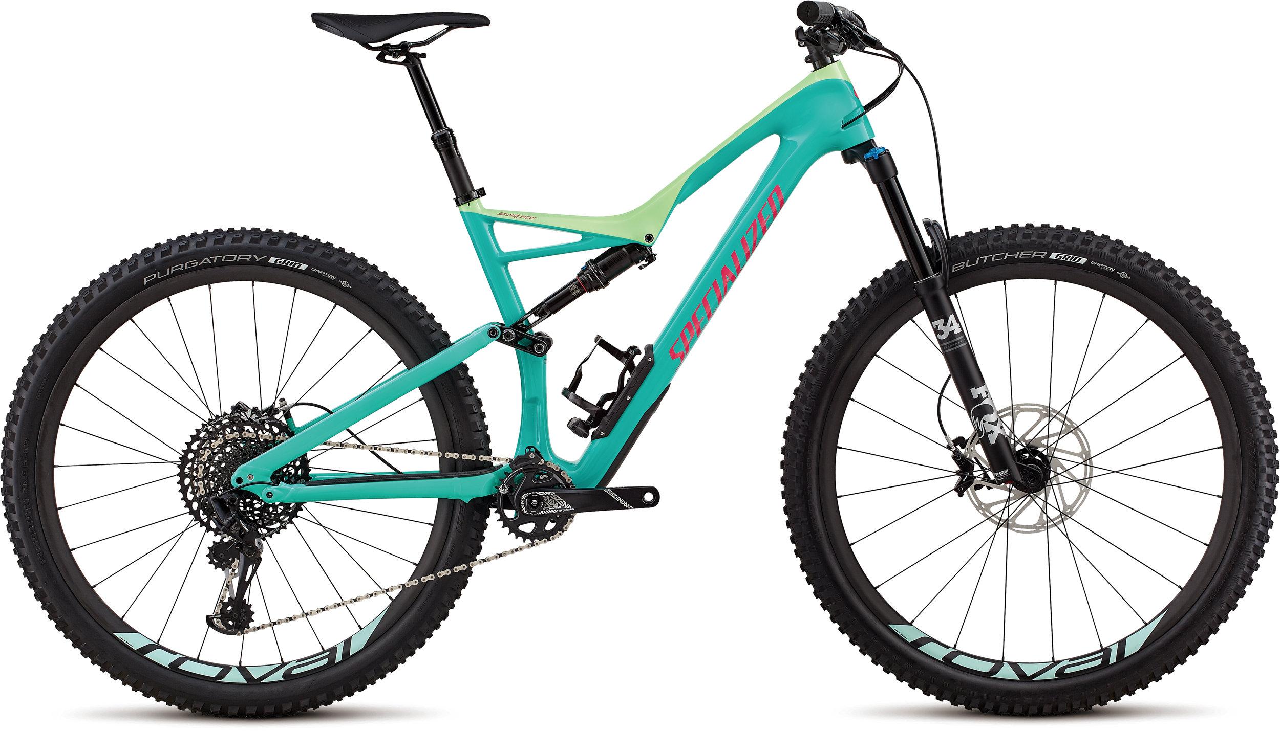 Specialized Stumpjumper Expert 29/6Fattie HERITAGE GLOSS ACID MINT / ACID KIWI / ACID PINK S - Bike Maniac