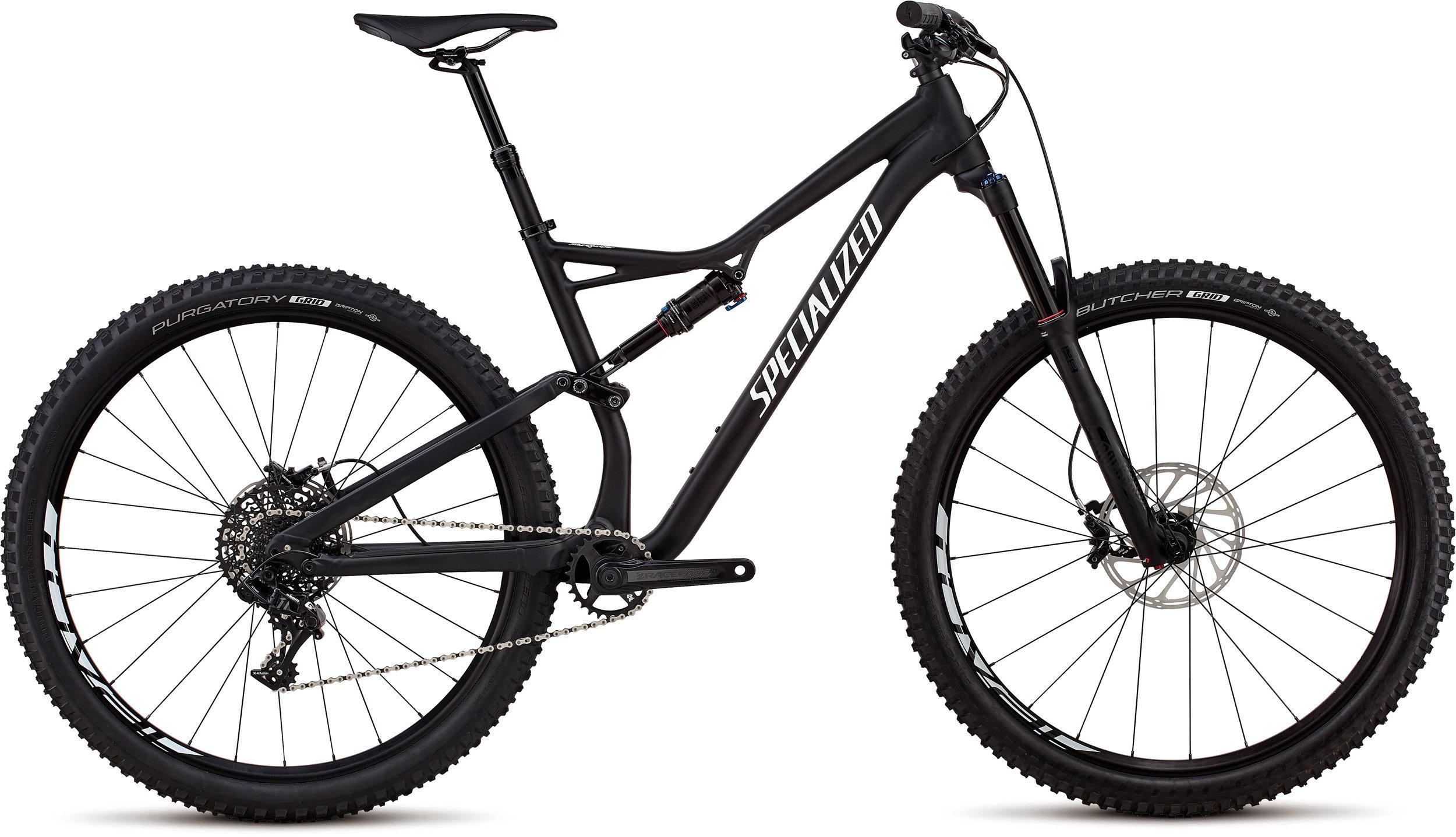Specialized Stumpjumper Comp Alloy 29/6Fattie SATIN BLACK / WHITE CLEAN L - Pulsschlag Bike+Sport