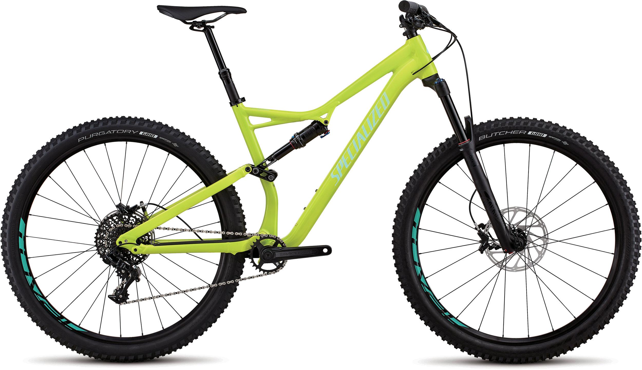 Specialized Stumpjumper Comp Alloy 29/6Fattie GLOSS HYPER / MINT CLEAN S - Bike Maniac
