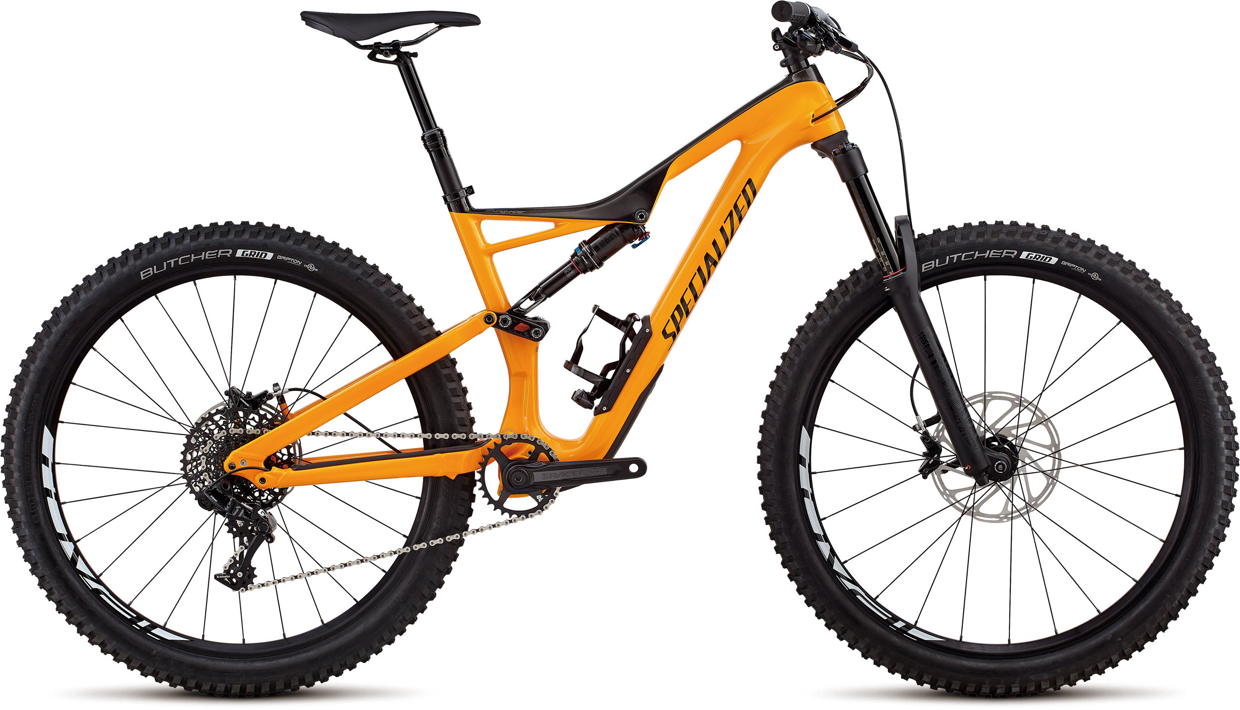 Specialized Stumpjumper Comp Carbon 27.5 GLOSS GALLARDO ORANGE / CARBON / BLACK S - Bike Maniac