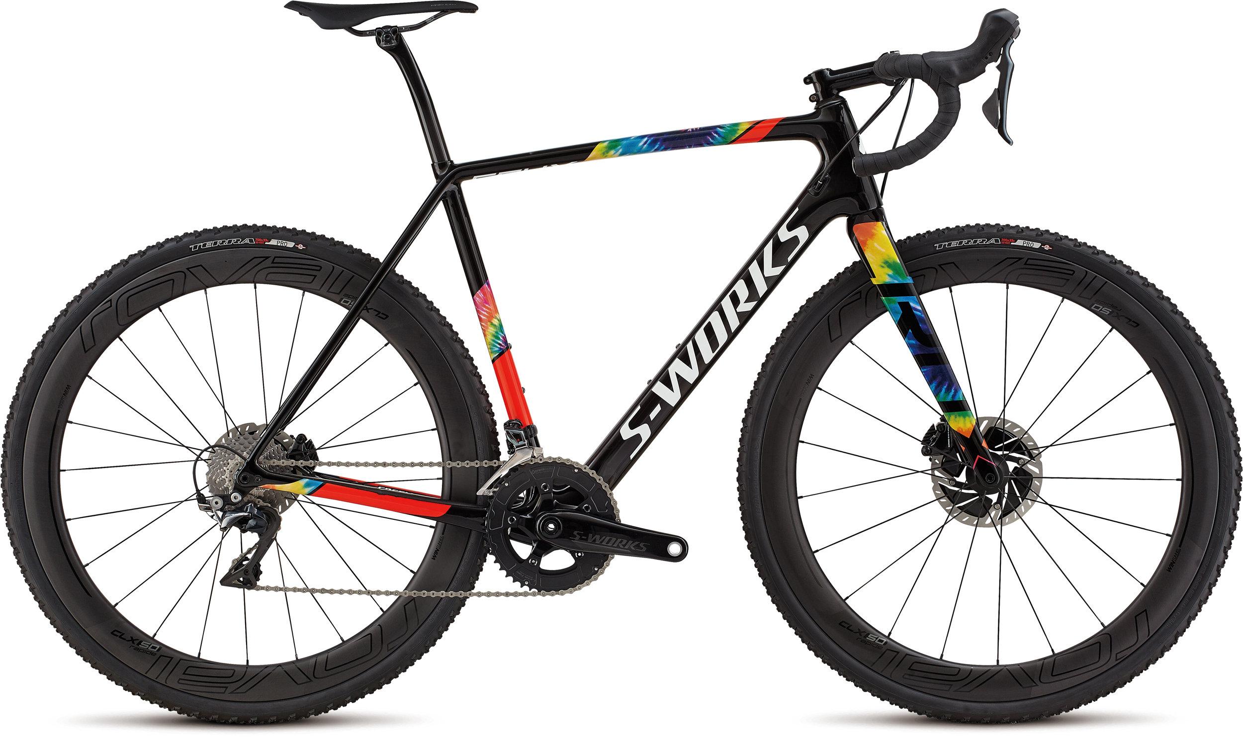 Specialized S-Works CruX Gloss SL Blk/Cosmos/Rkt Red/ Wht Hph Clear 49 - Bike Maniac