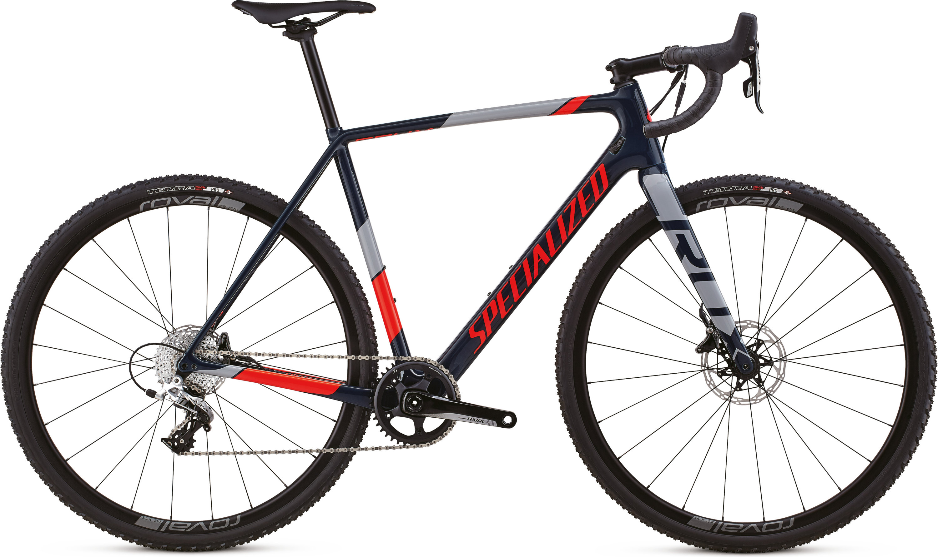Specialized CruX Elite X1 Gloss Cast Blue/Rkt Red/Cool Gray 49 - Pulsschlag Bike+Sport