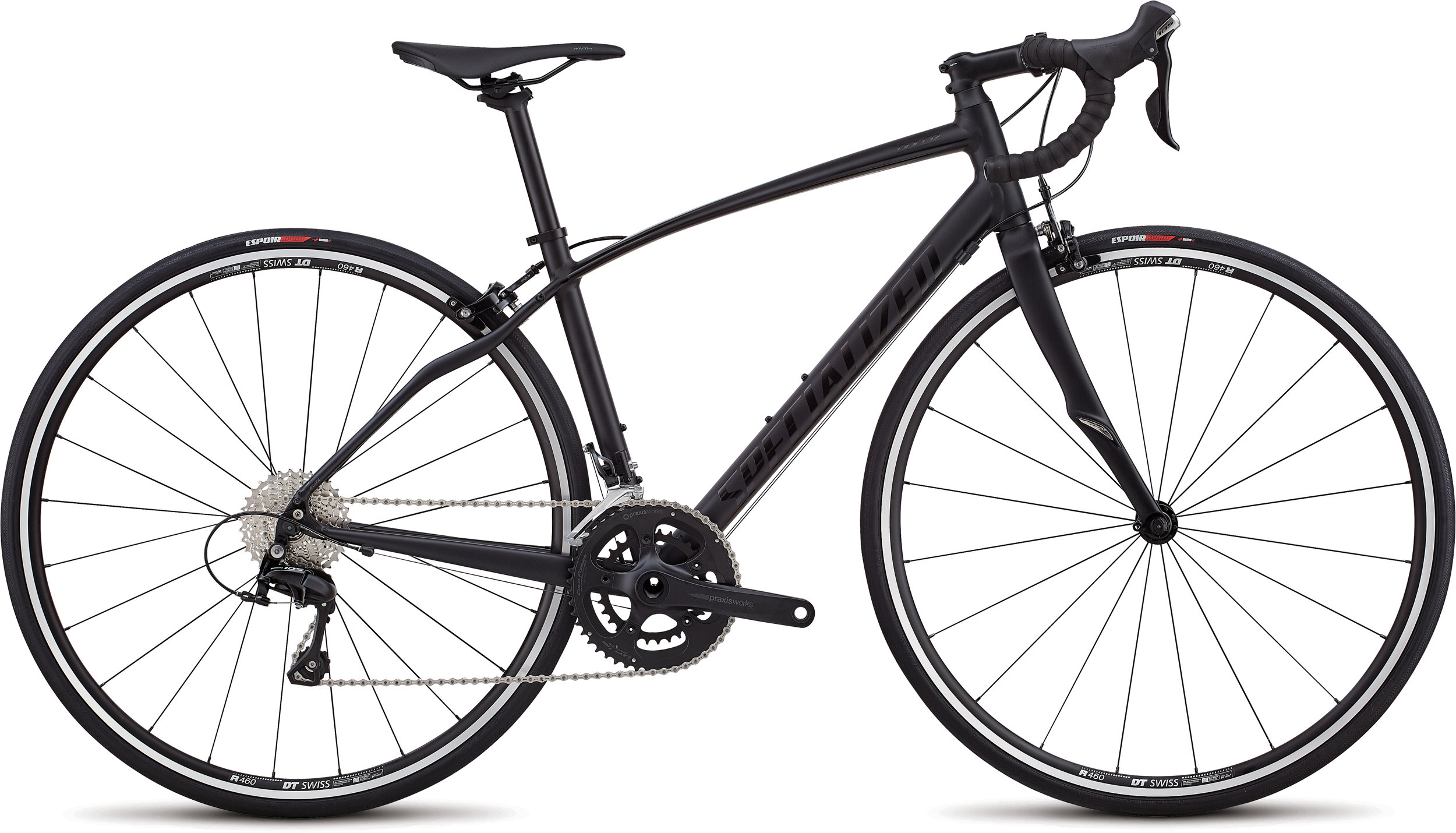 Specialized Dolce Elite SATIN  / GLOSS / TARMAC BLACK / BLACK 51 - Alpha Bikes