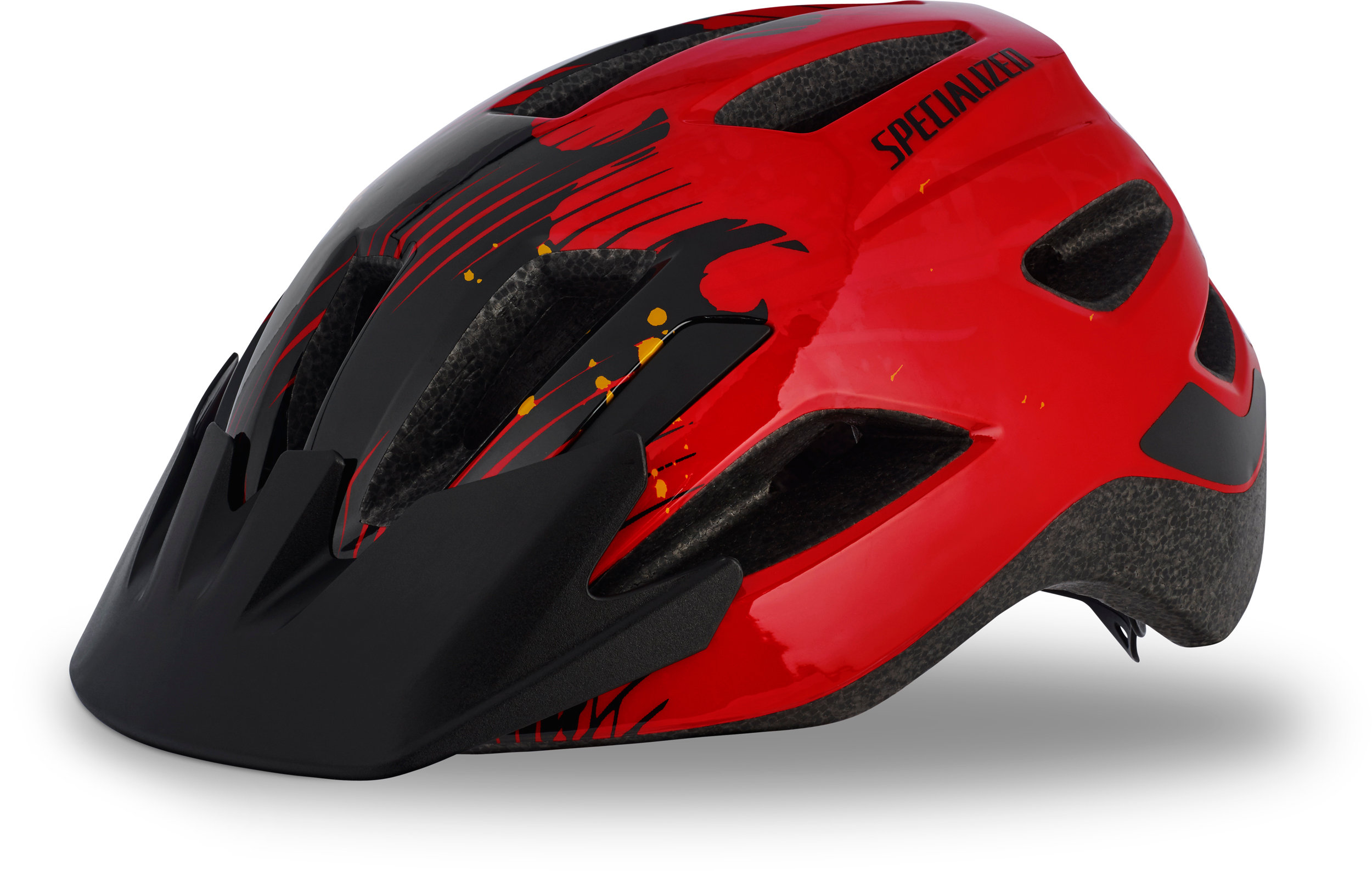 Specialized Shuffle Child LED Red/Black Flames CHLD - Alpha Bikes