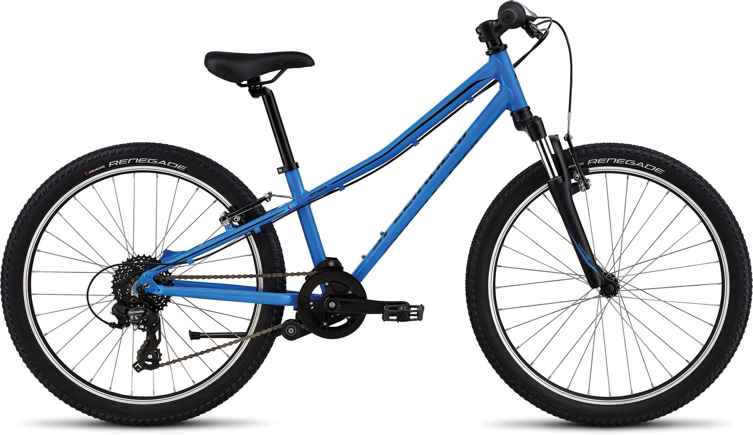 Specialized Hotrock 24 Neon Blue/Black 11 - Alpha Bikes