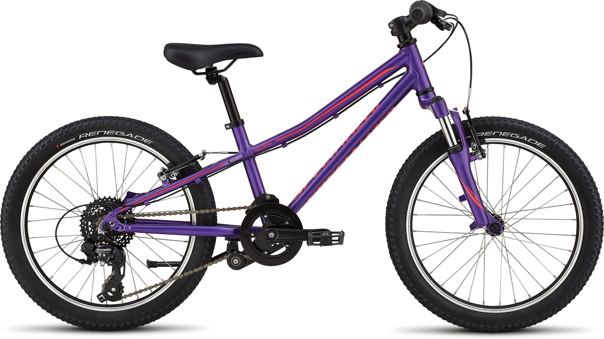 Specialized Hotrock 20 Purple Haze/Black/Acid Red 9 - Bike Maniac