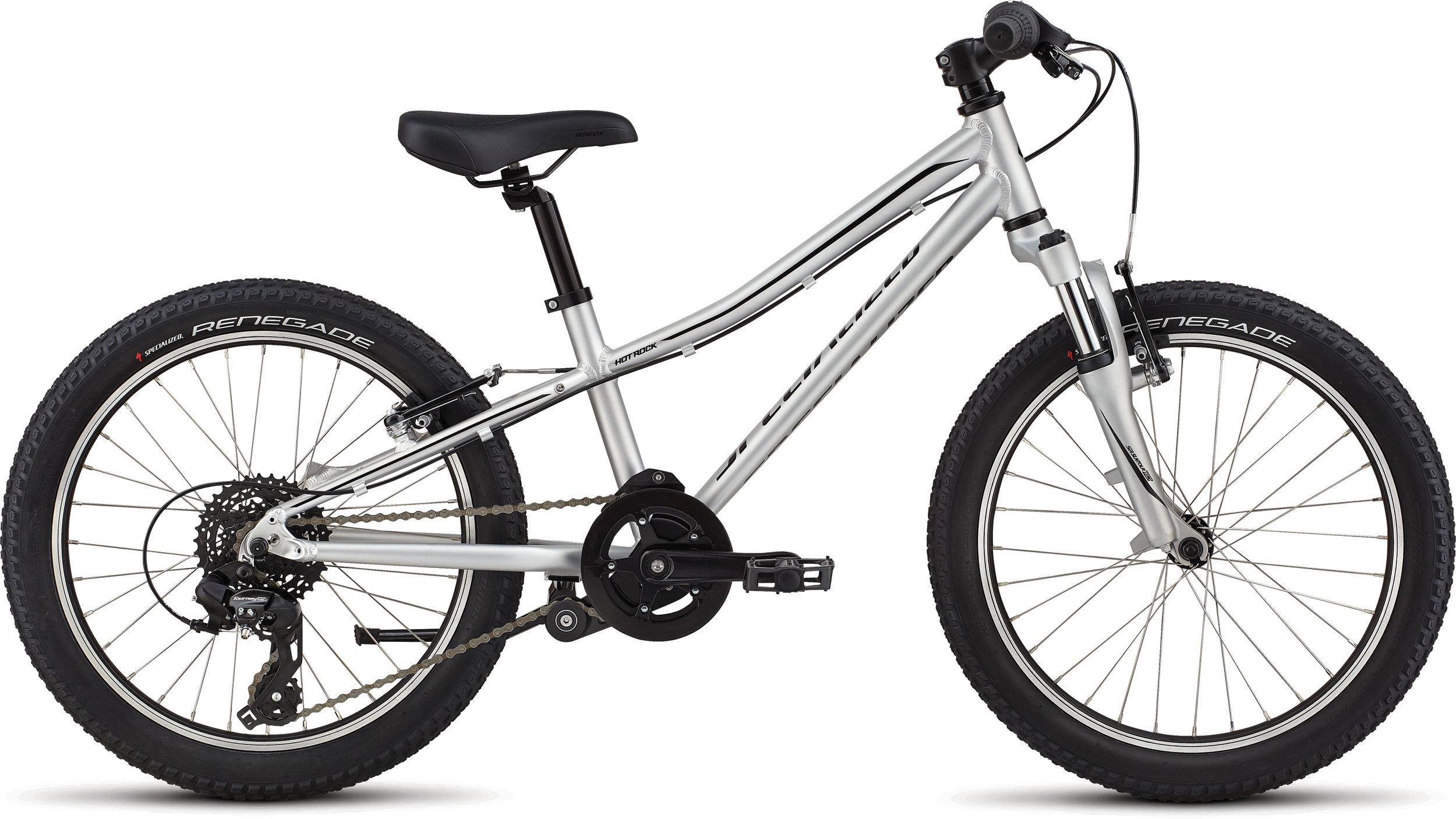 Specialized Hotrock 20 Satin Light Silver/Black 9 - Alpha Bikes