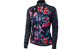 THERMINAL JERSEY LONG SLEEVE WOMEN NVY FLEUR XS