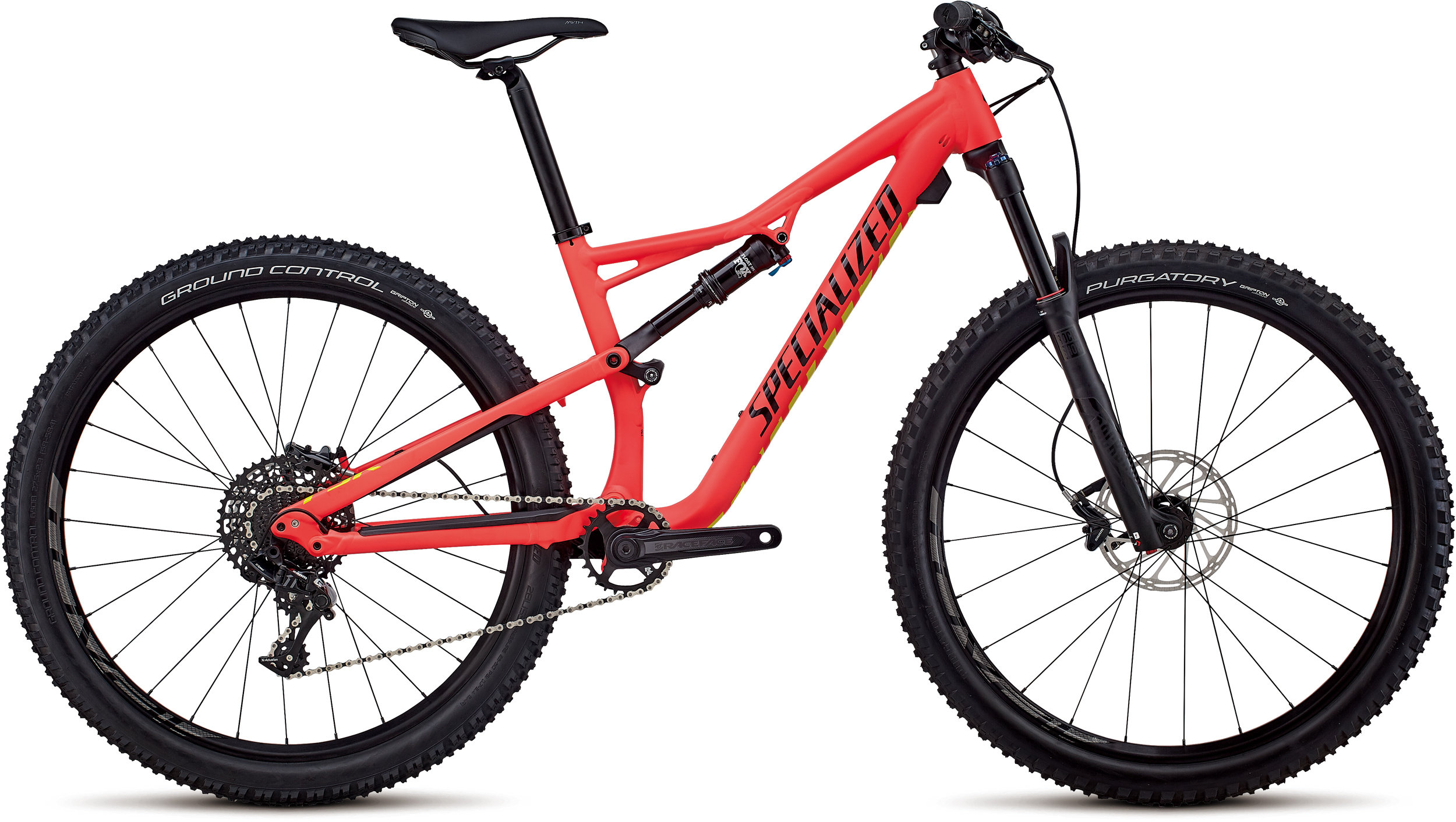 Specialized Women´s Camber Comp 27.5 Satin Gloss Acid Red / Limon / Black M - Bike Zone