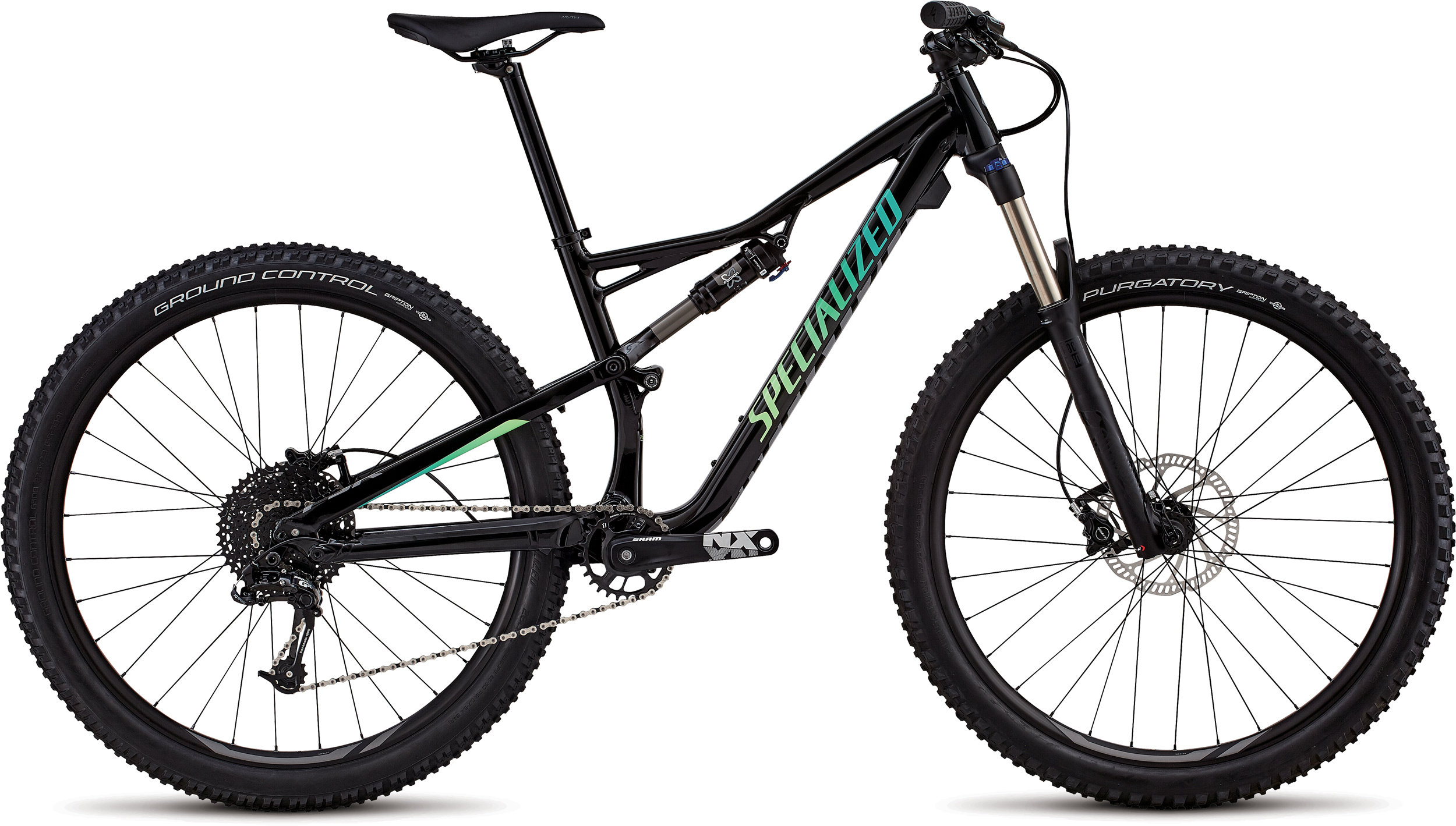 Specialized Women´s Camber 27.5 Gloss Tarmac Black / Cali Fade XS - Bike Maniac